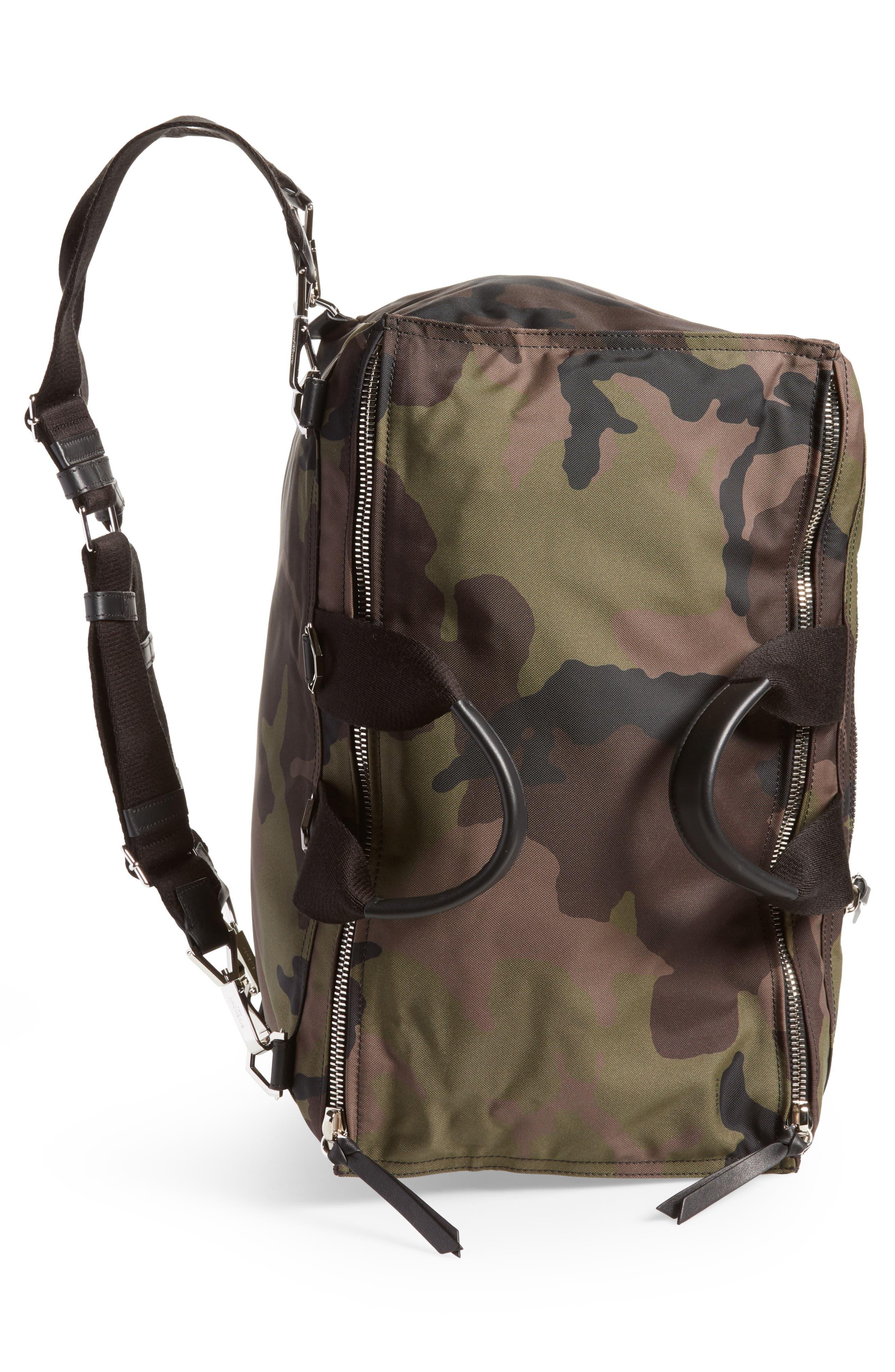 Pandora Camo Convertible Backpack,                             Alternate thumbnail 5, color,                             Multicolored