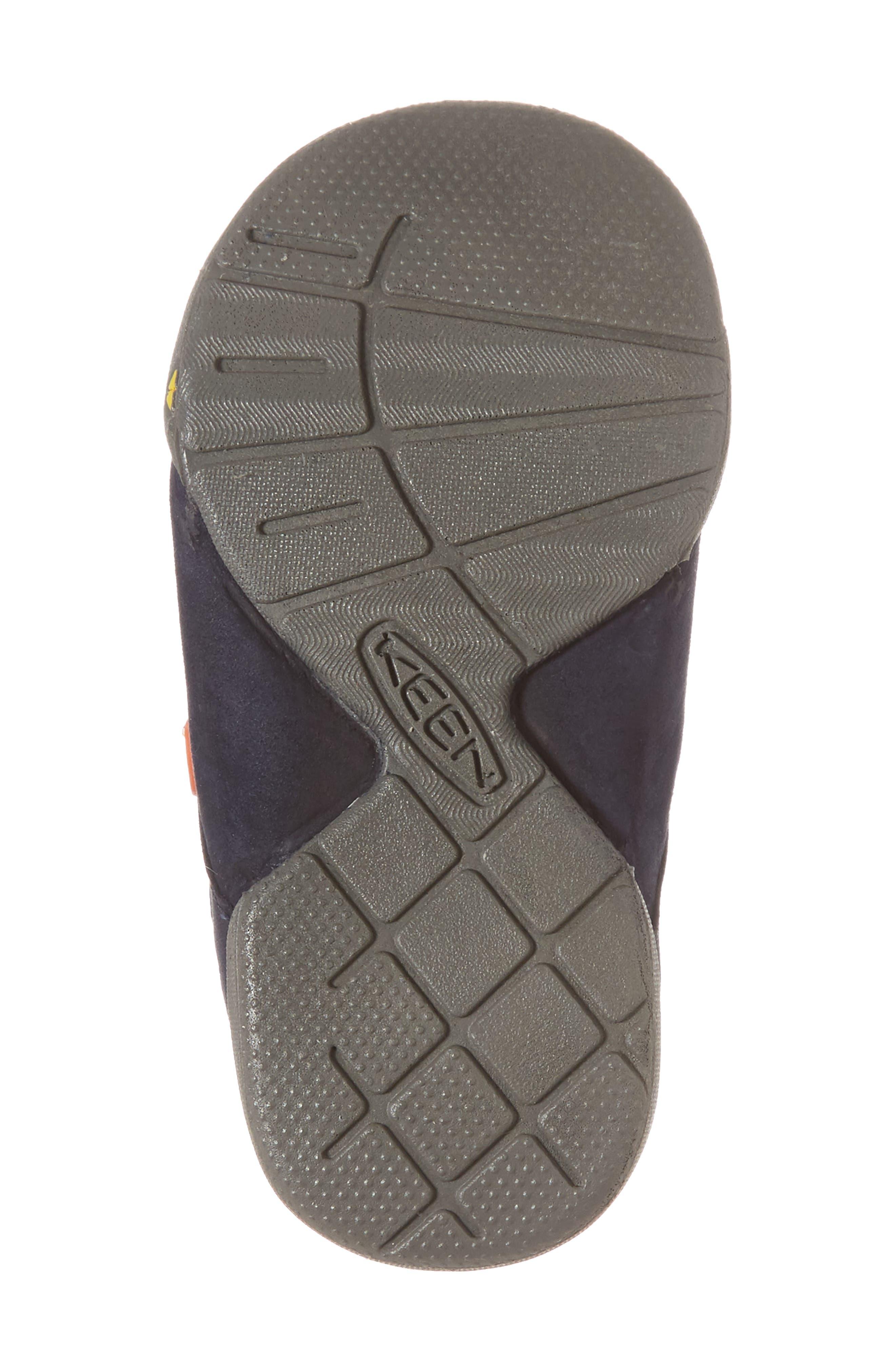 Pep Double Strap-T Sneaker,                             Alternate thumbnail 6, color,                             Dress Blues/ Koi