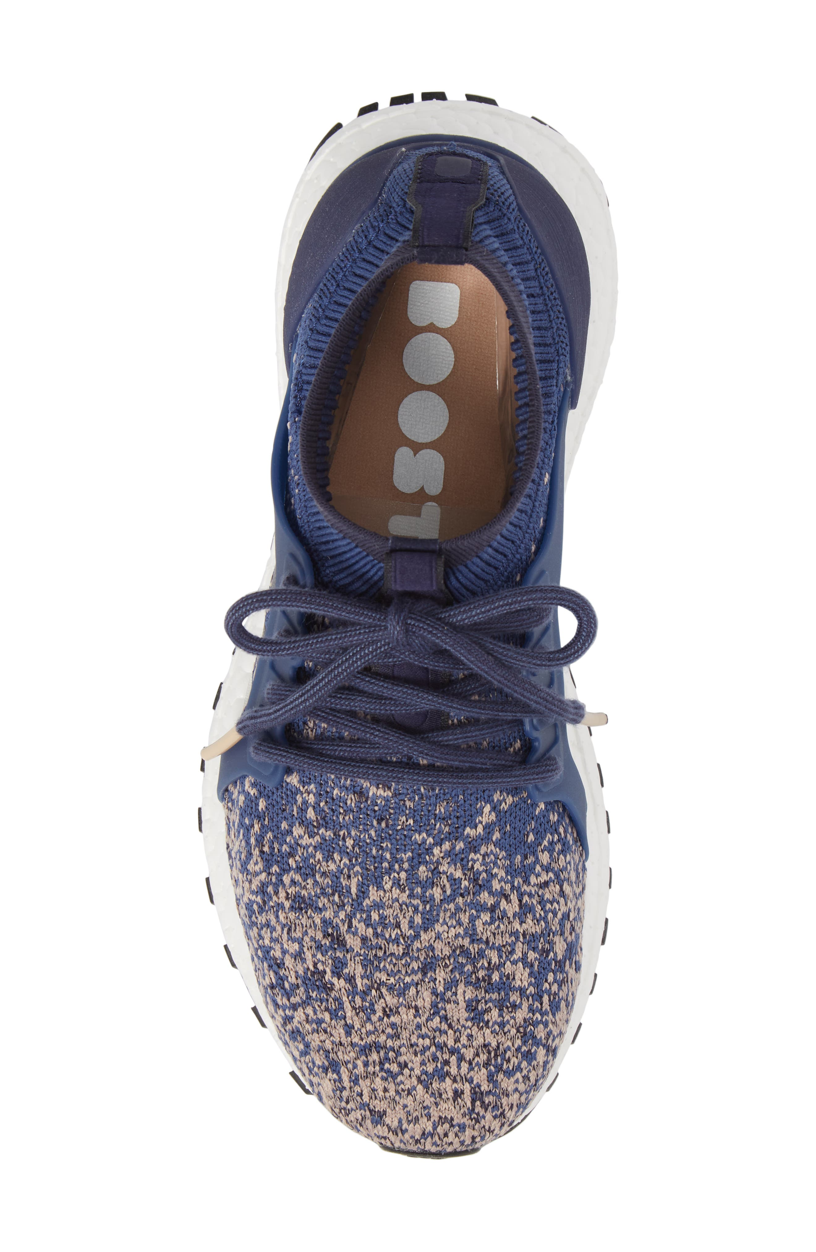 UltraBoost X All Terrain Water Resistant Running Shoe,                             Alternate thumbnail 5, color,                             Noble Indigo/ Noble Indigo