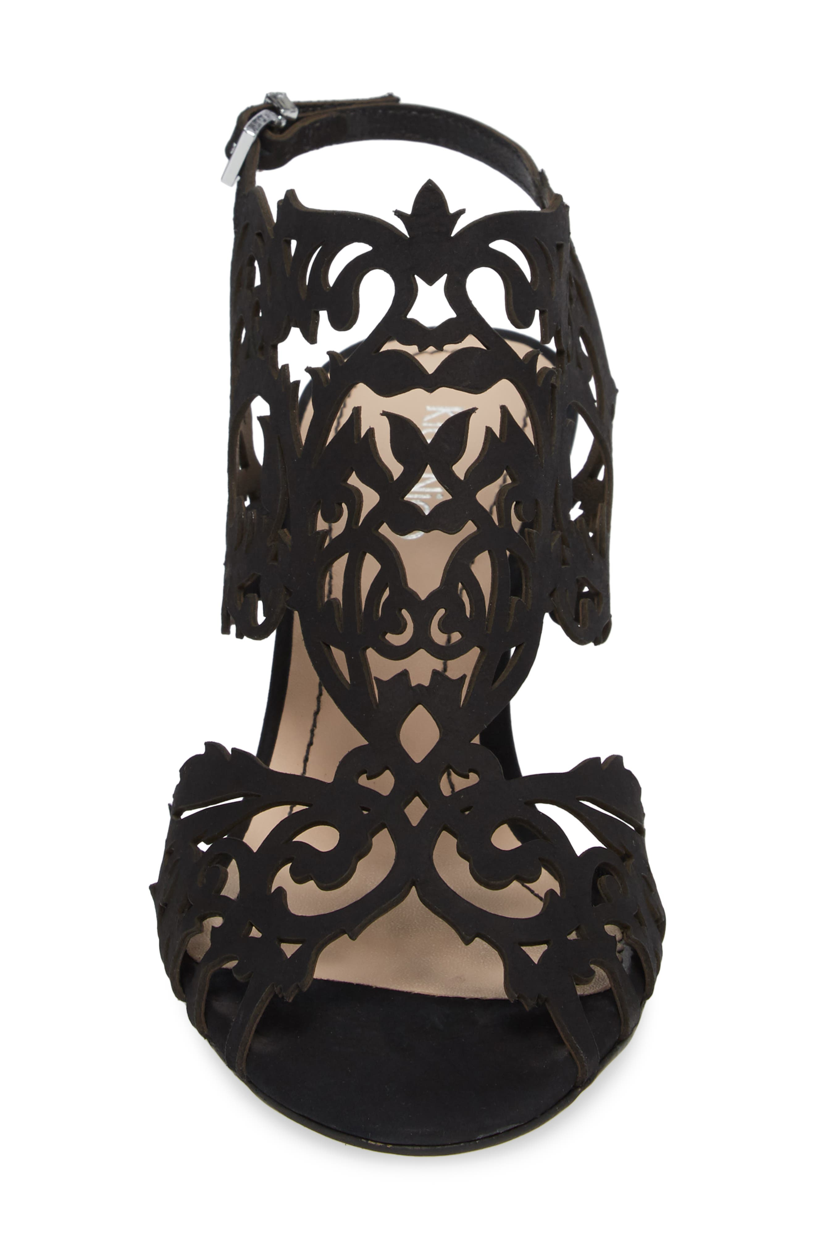 Alternate Image 4  - Klub Nico Marcela Laser Cutout Wedge Sandal (Women)