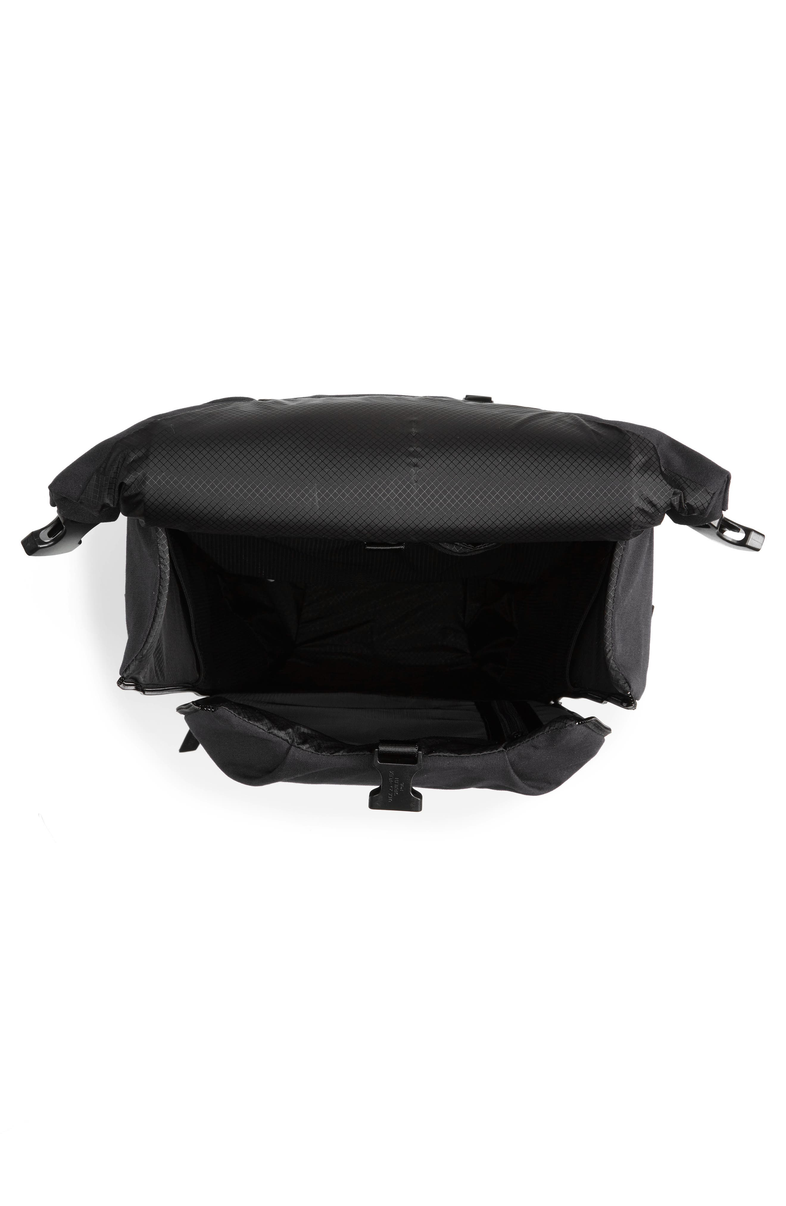 Quick Pack Lux Backpack,                             Alternate thumbnail 4, color,                             Black