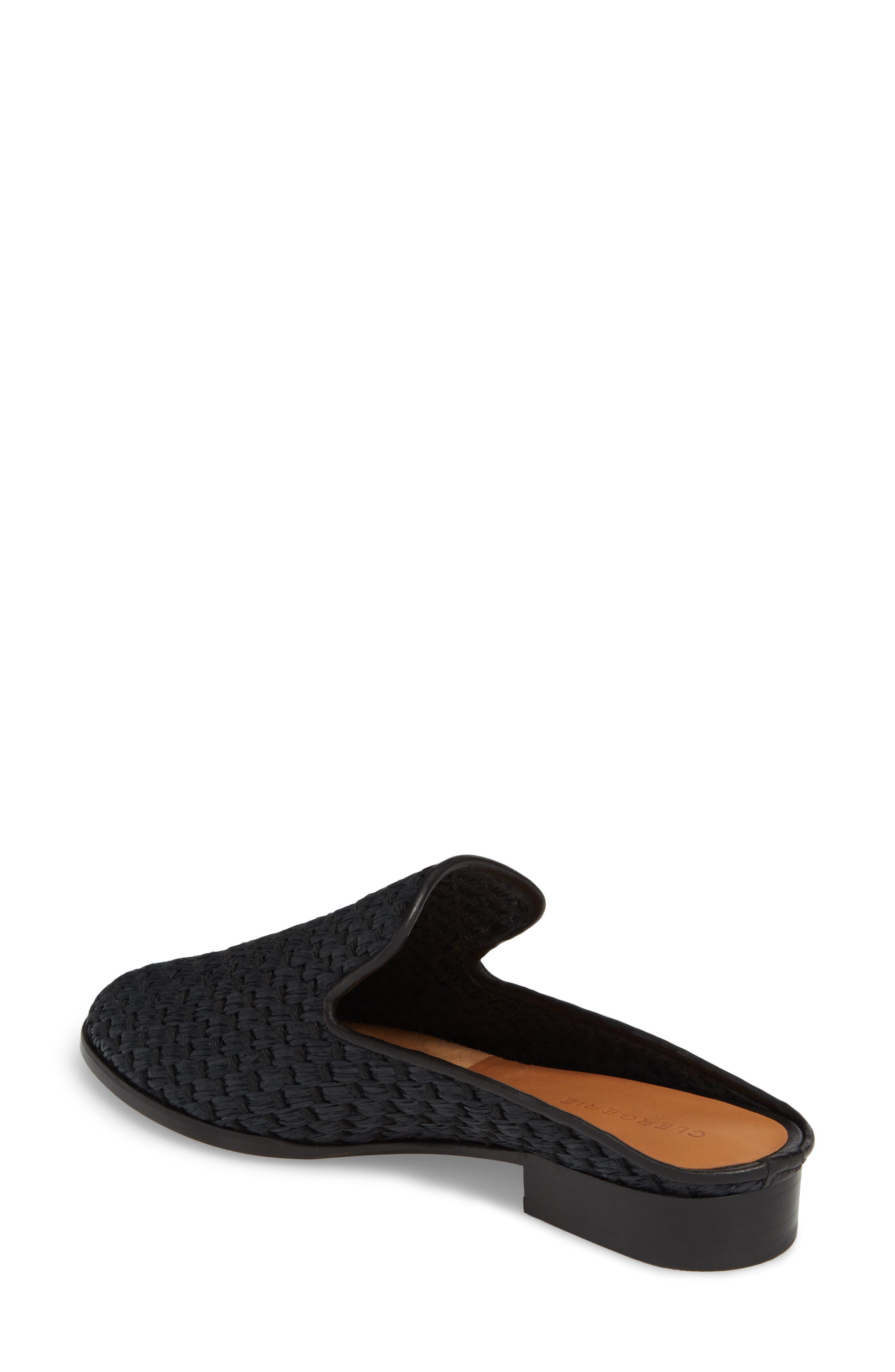 Aliceop Woven Loafer Mule,                             Alternate thumbnail 2, color,                             Black