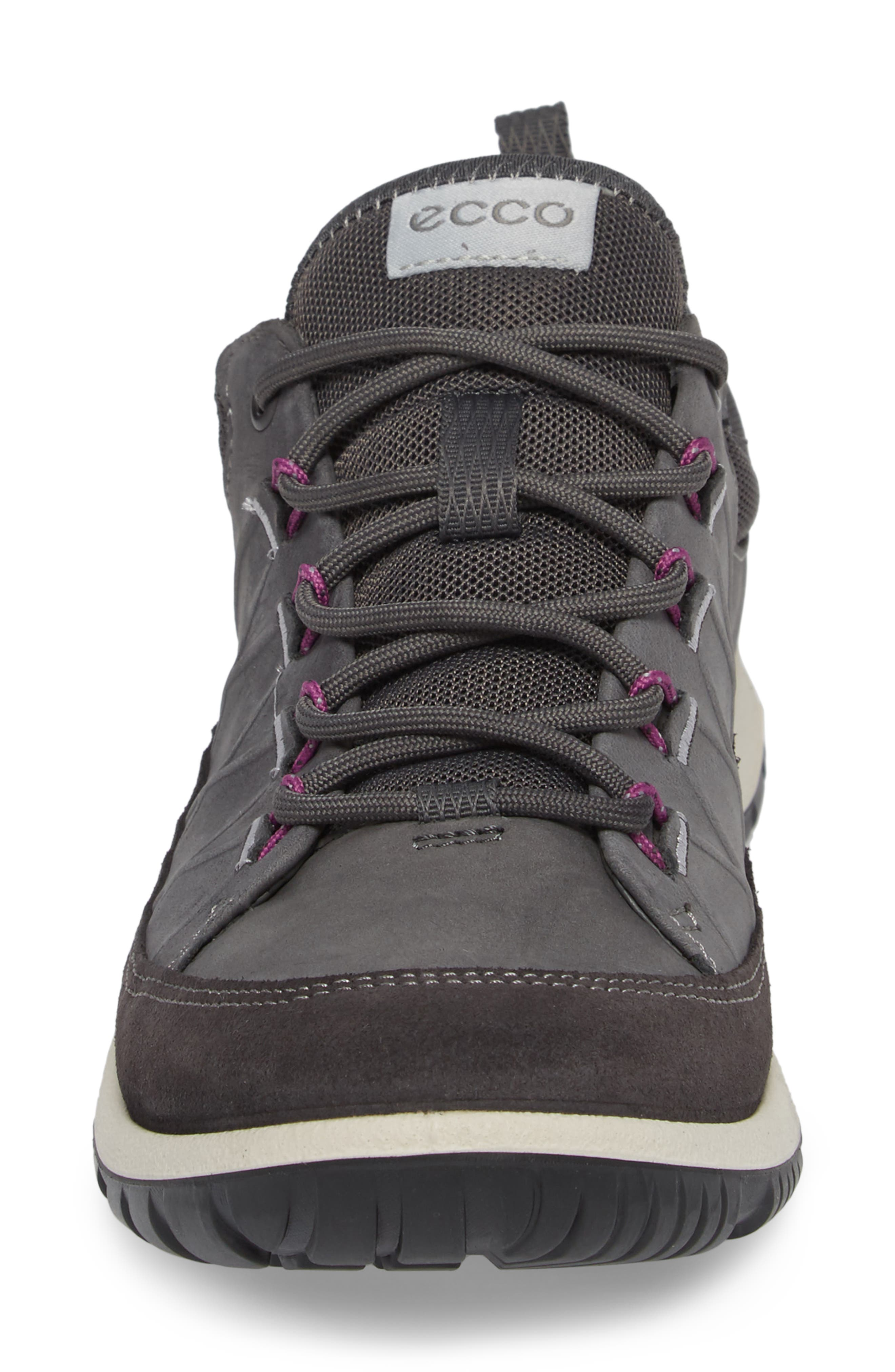 'Aspina' Sneaker,                             Alternate thumbnail 4, color,                             Moonless Leather