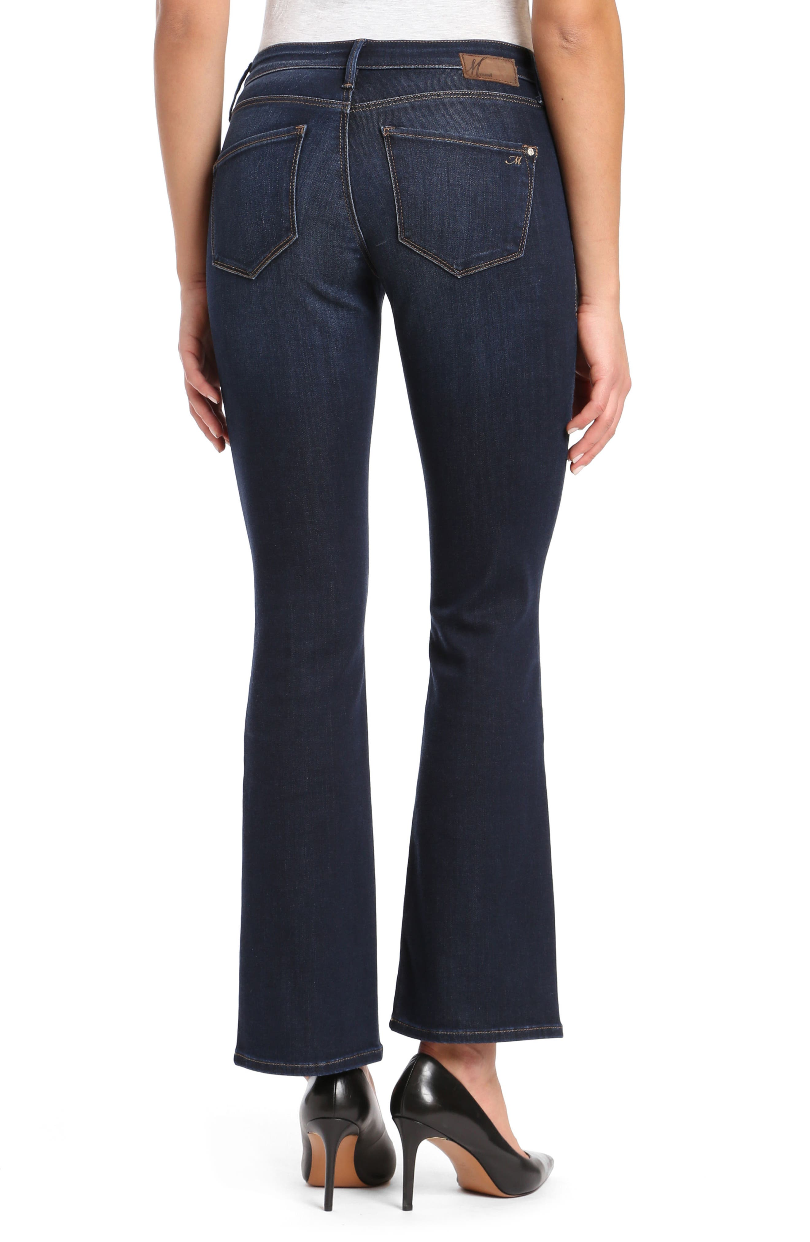 Molly Classic Bootcuts Jeans,                             Alternate thumbnail 2, color,                             Deep Super Soft