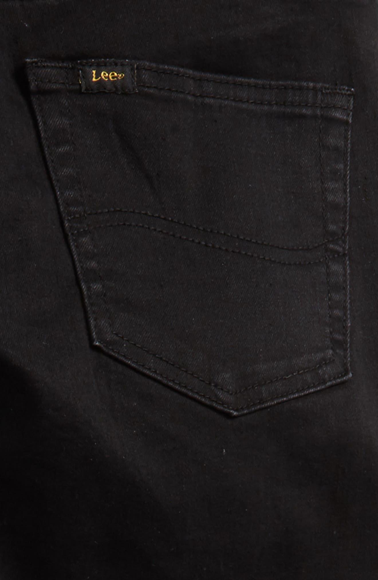 Stretch Skinny Jeans,                             Alternate thumbnail 3, color,                             Jet