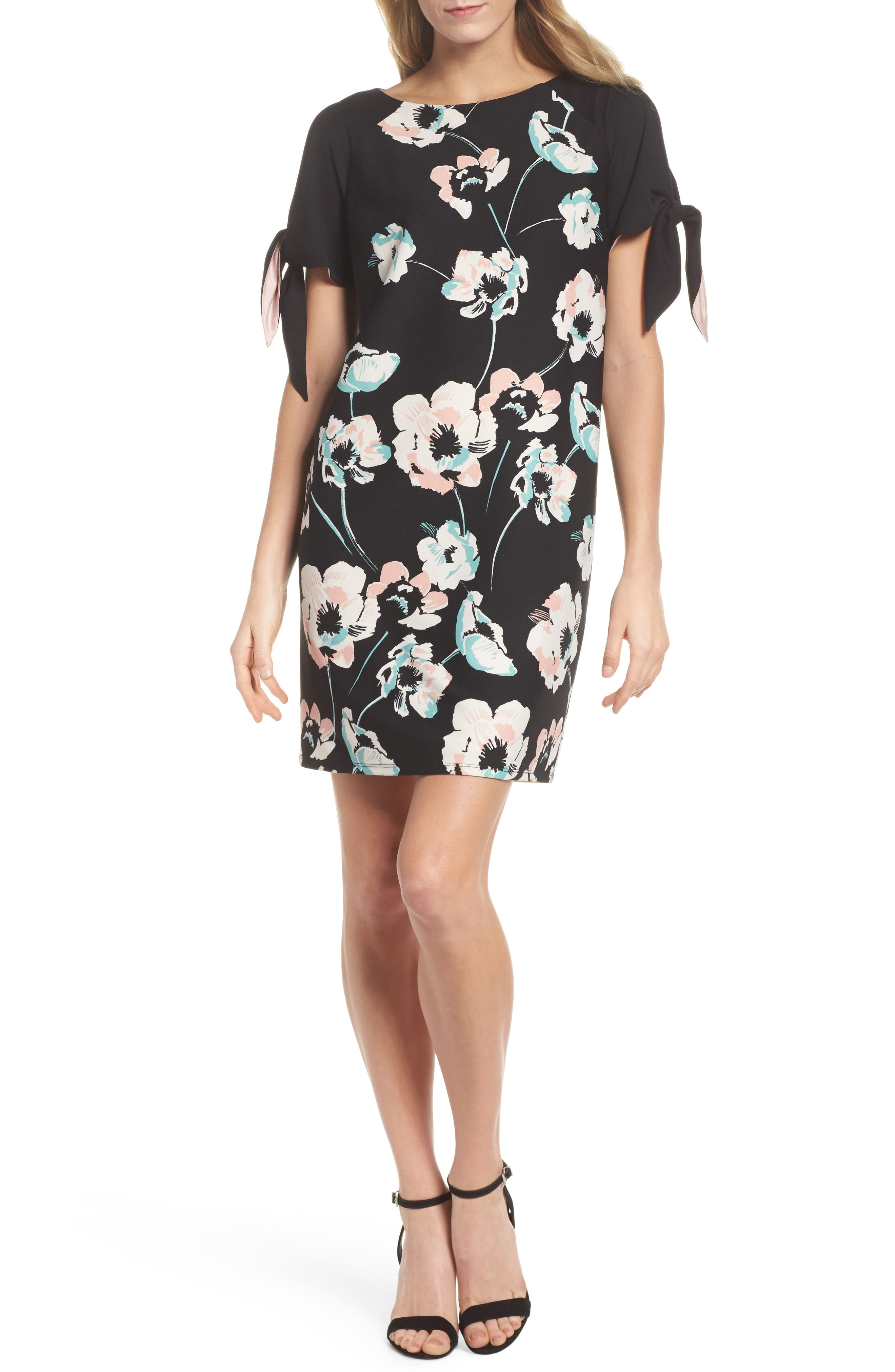 Main Image - Vince Camuto Cold Shoulder Shift Dress