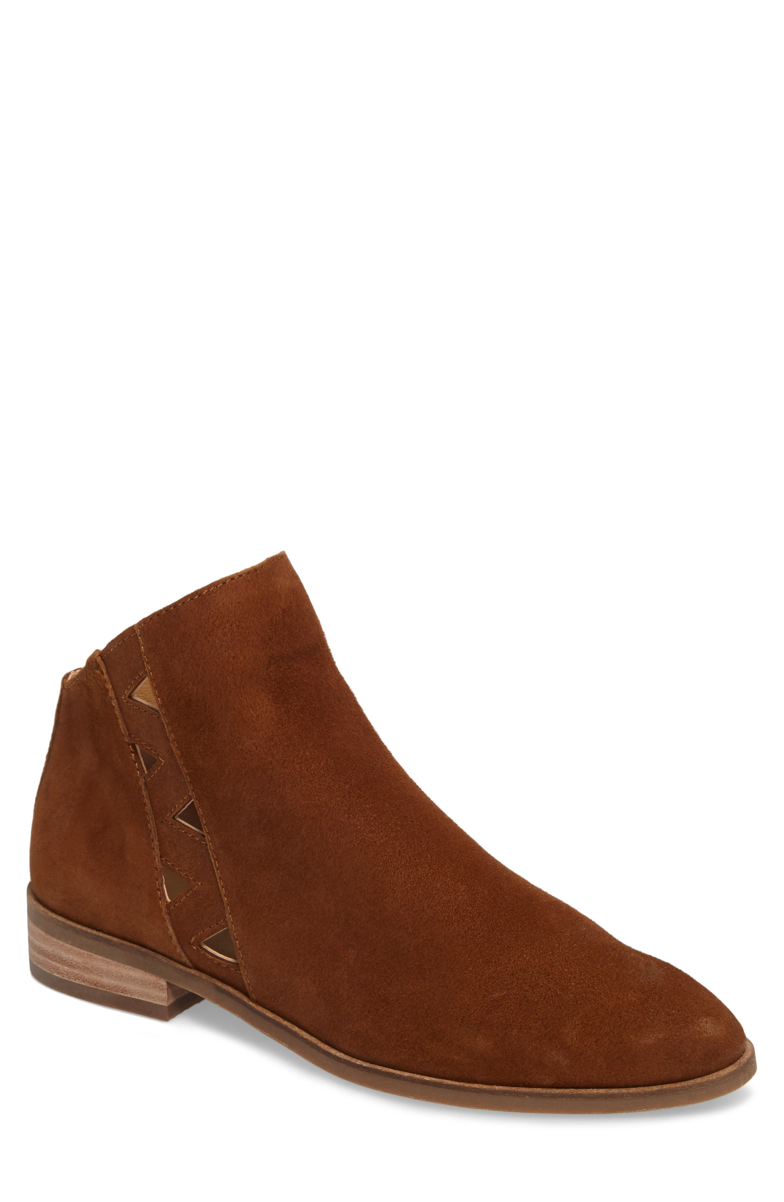 Jakeela Bootie,                         Main,                         color, Cedar Leather