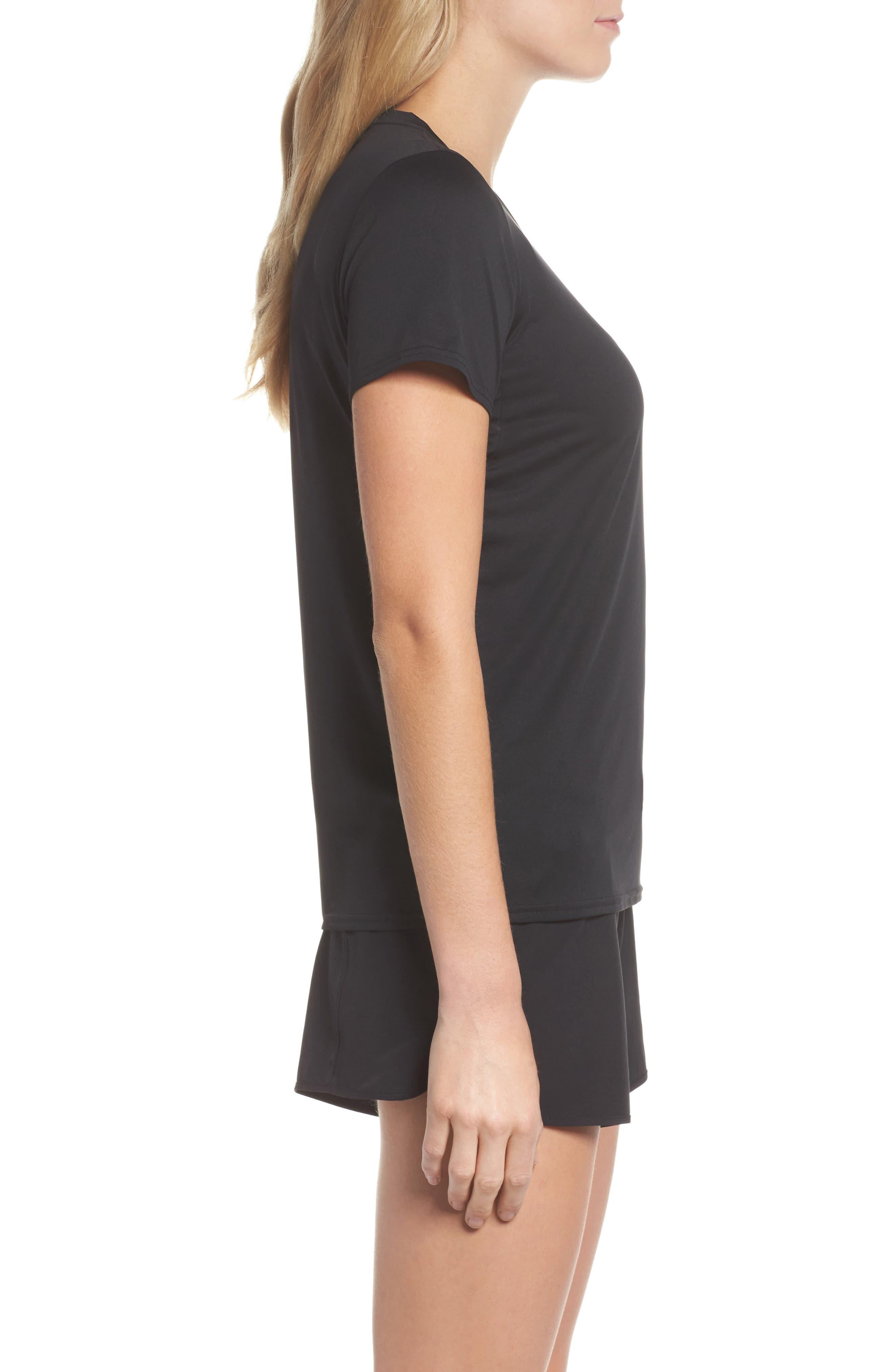 Capilene<sup>®</sup> Dailty T-Shirt,                             Alternate thumbnail 3, color,                             Black
