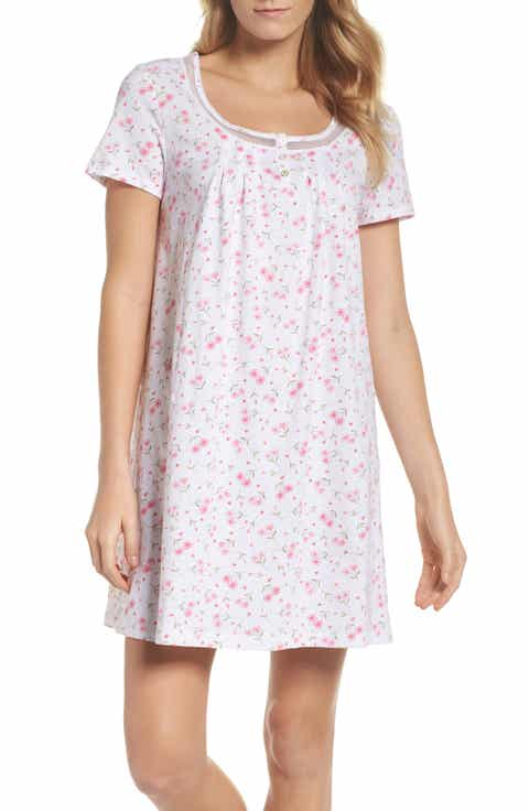 Carole Hochman Cotton Jersey Sleep Shirt