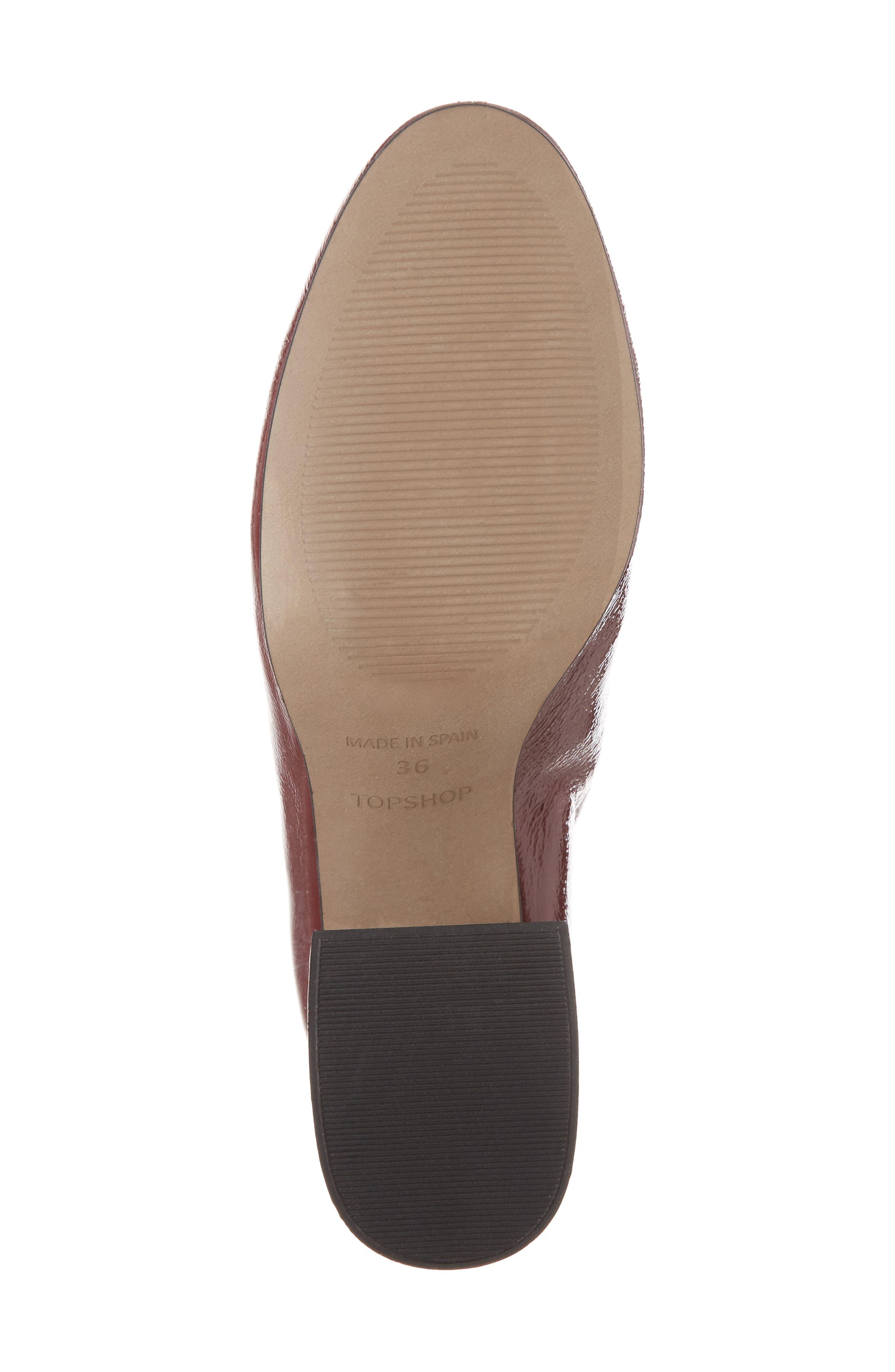 Alternate Image 6  - Topshop Mighty Flared Heel Bootie (Women)