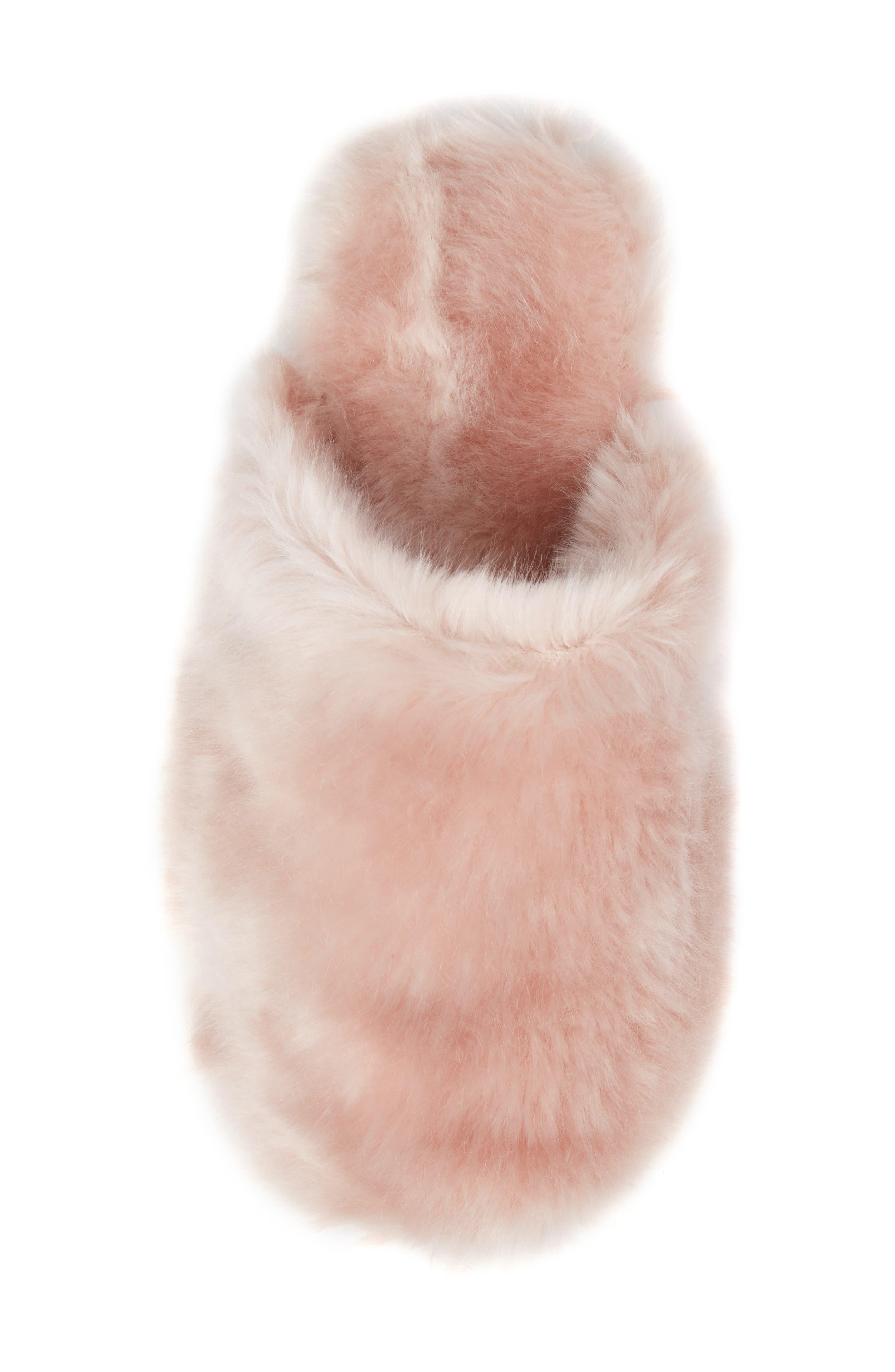 Alternate Image 5  - J.Crew Faux Fur Slipper (Women)
