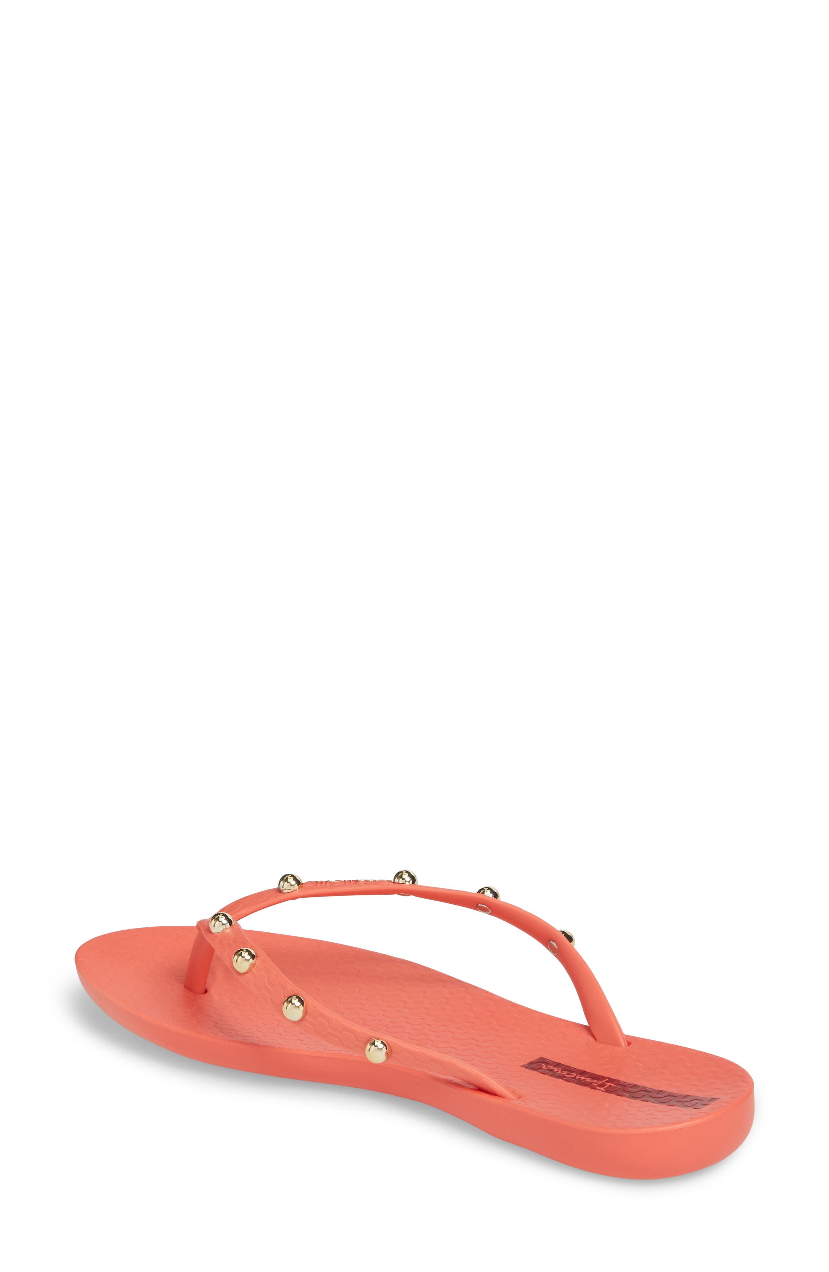 Alternate Image 2  - Ipanema Wave Studs Flip Flop (Women)