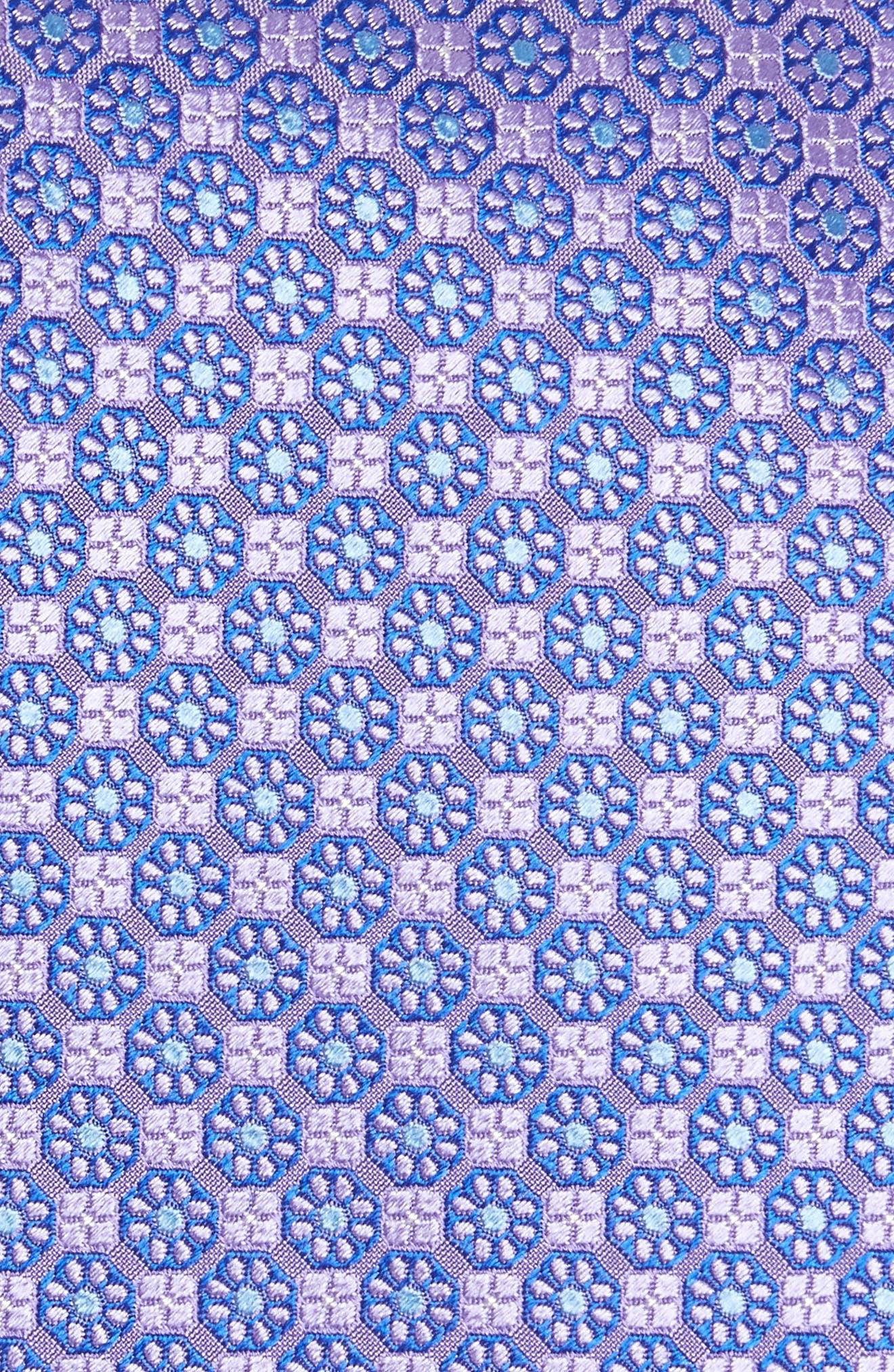 Alternate Image 2  - Canali Medallion Silk Tie (X-Long)