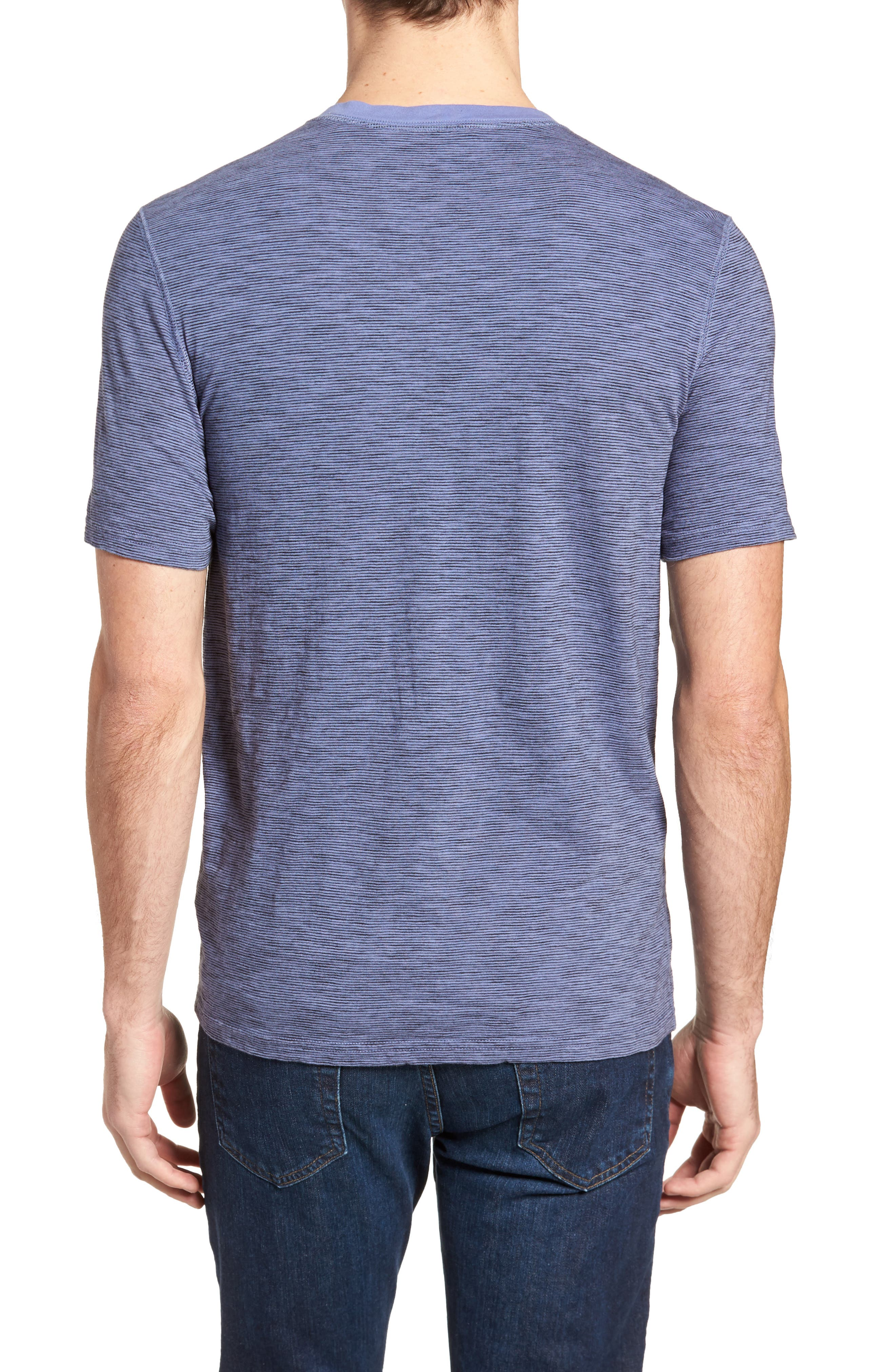 Garment Dyed Henley,                             Alternate thumbnail 2, color,                             Periwinkle