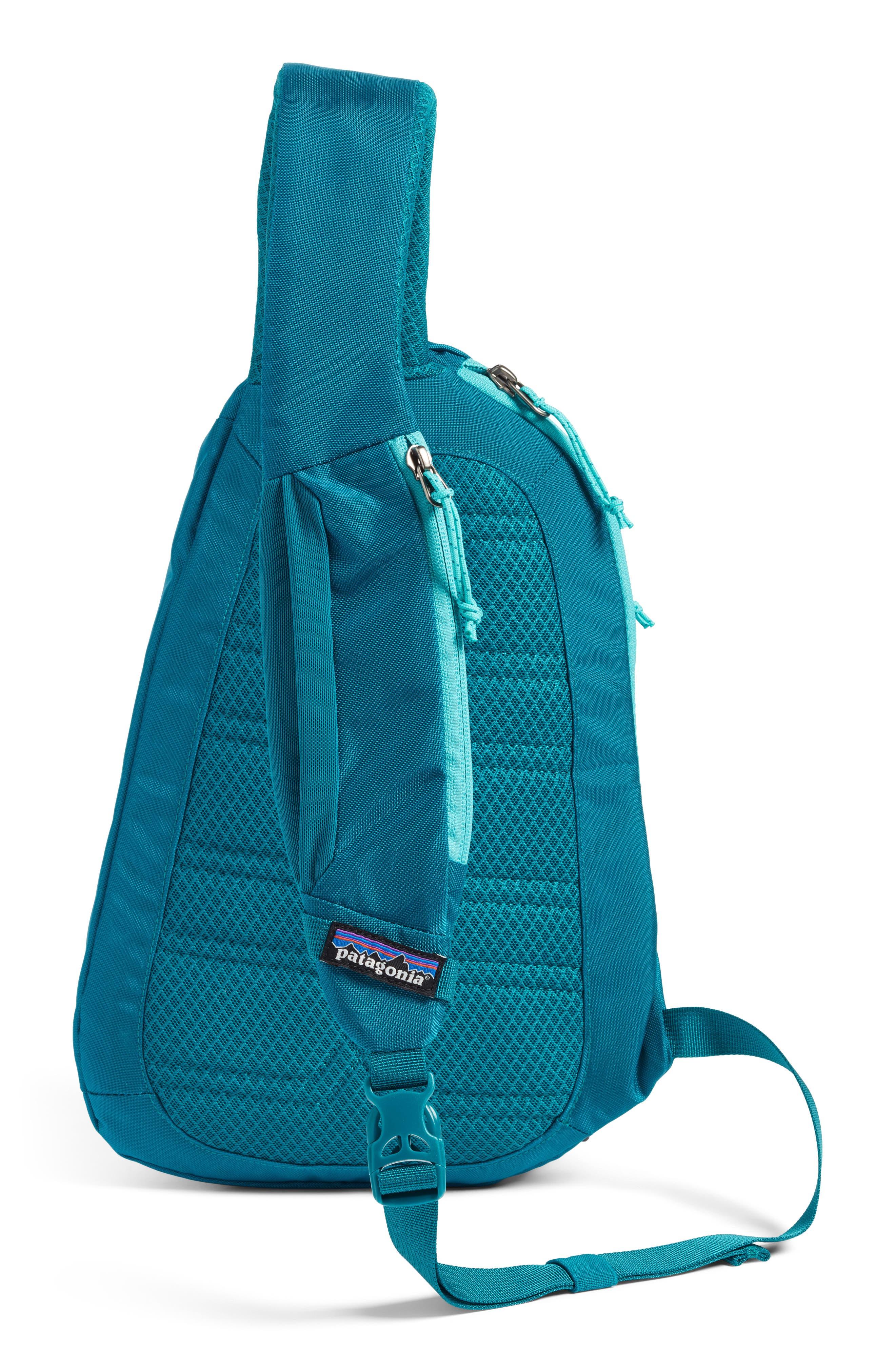 Atom 8L Sling Backpack,                             Alternate thumbnail 3, color,                             Elwha Blue