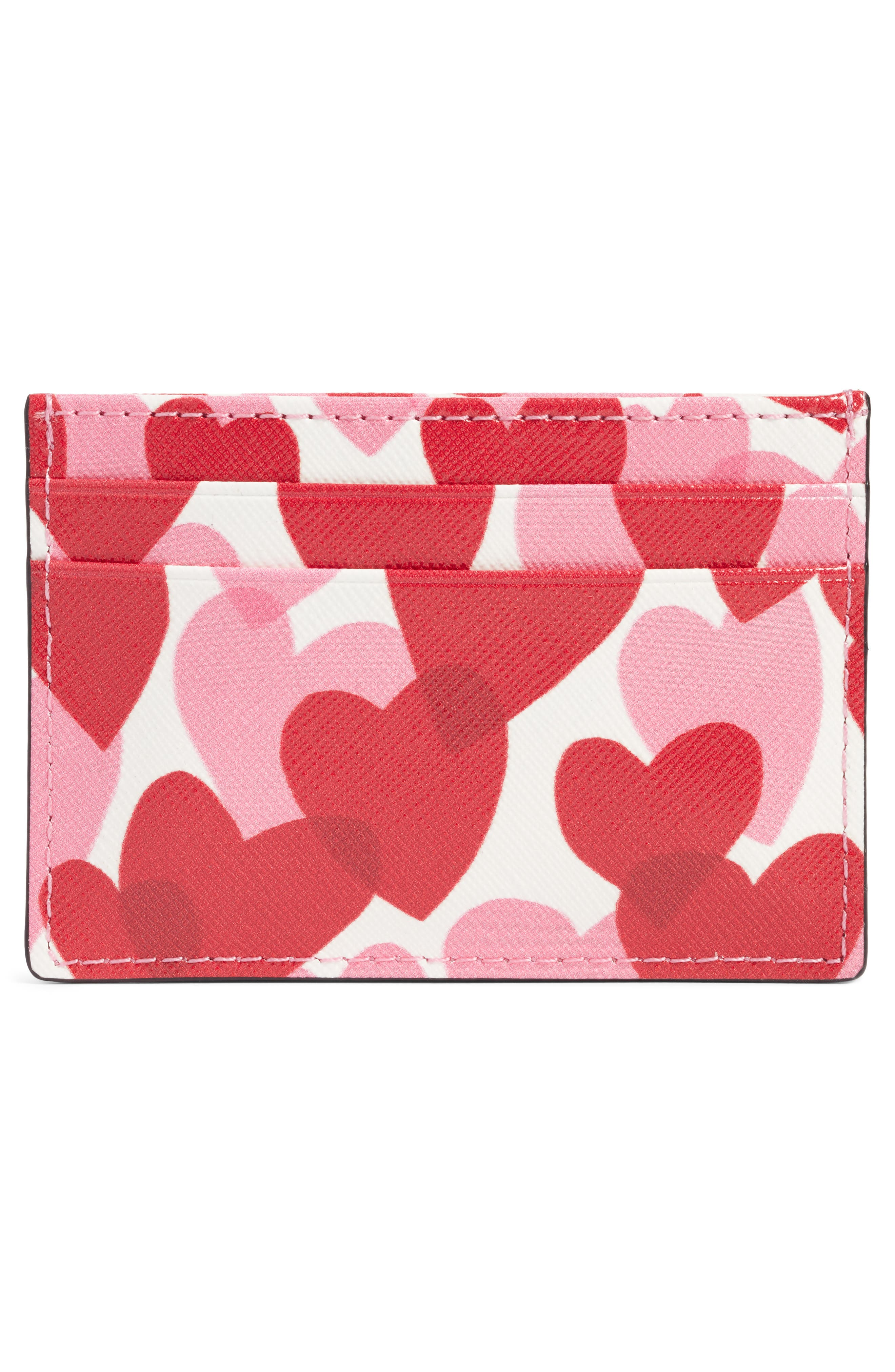 Alternate Image 2  - kate spade new york yours truly faux leather card case