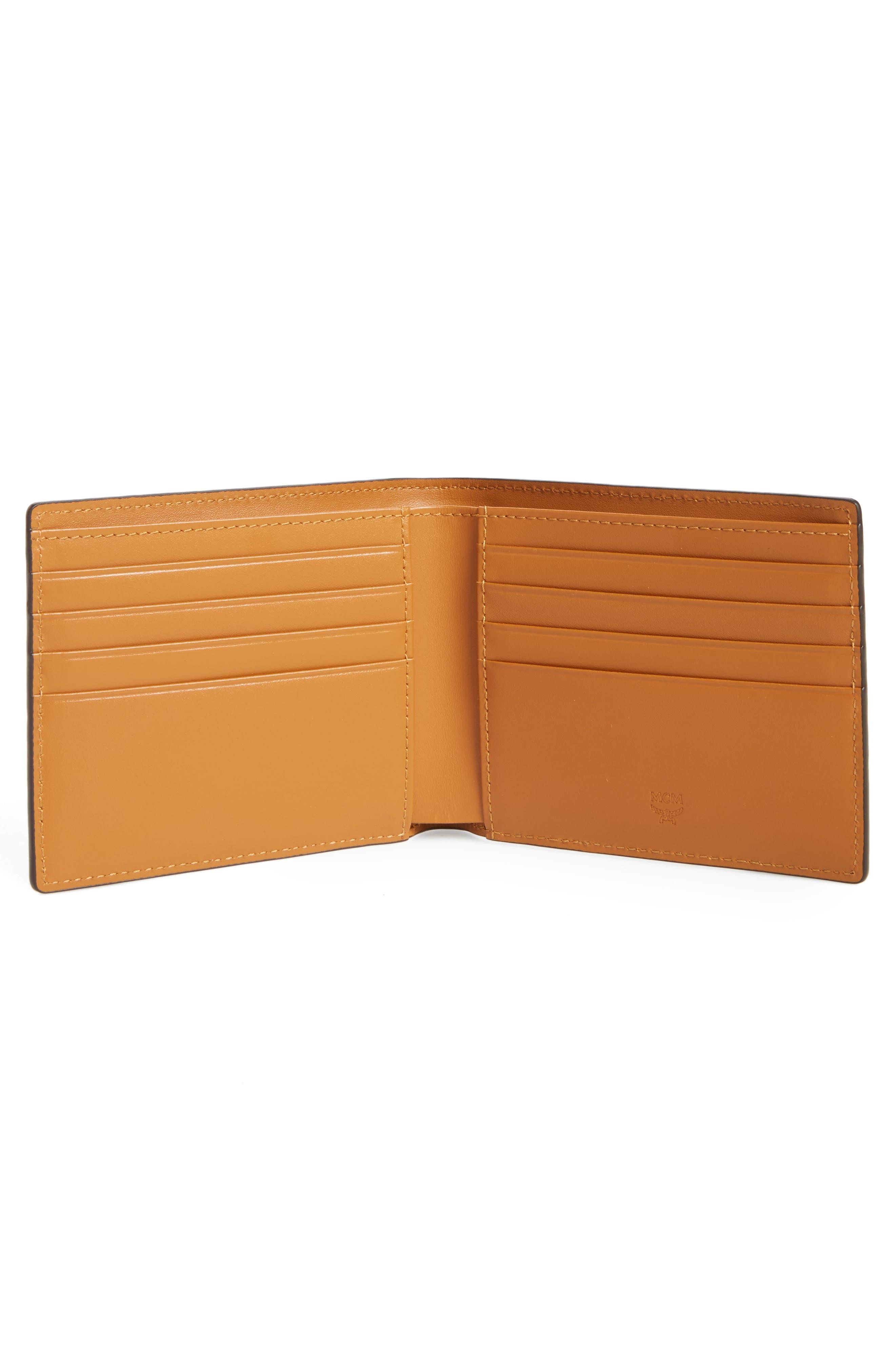 Alternate Image 2  - MCM Gunta Visetos Faux Leather Wallet