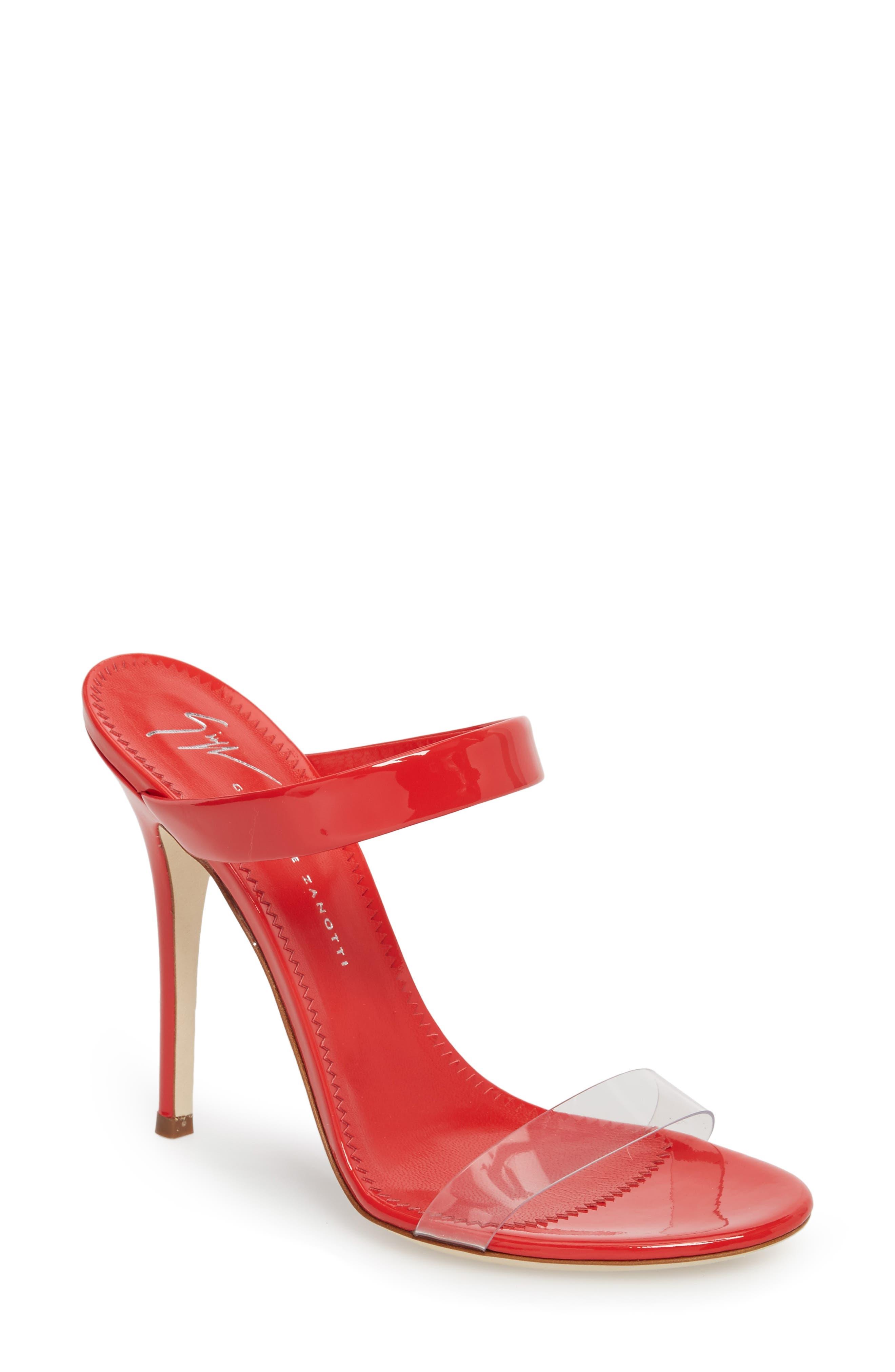 Alternate Image 1 Selected - Giuseppe Zanotti Strappy Sandal (Women)