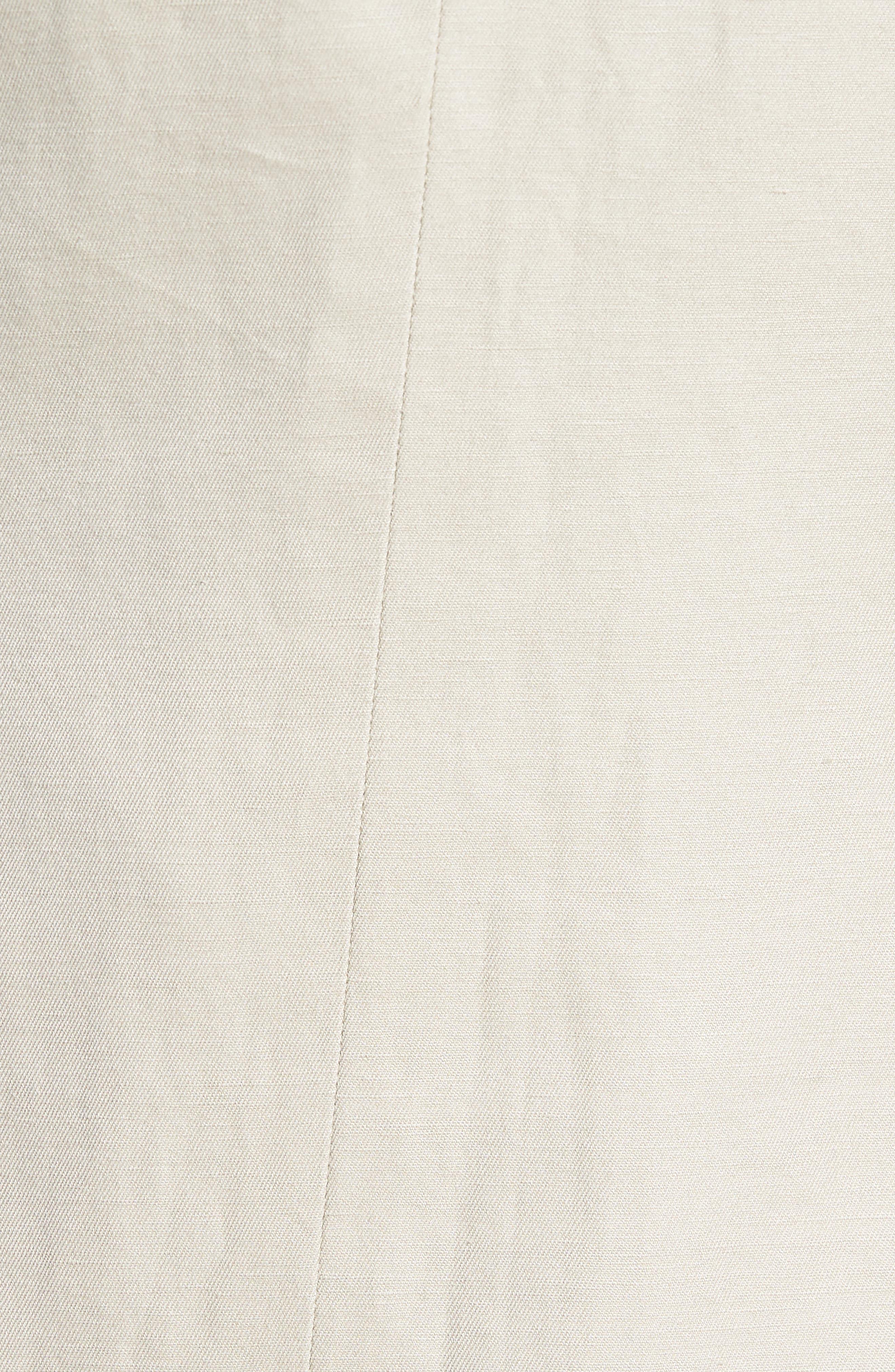 Maxwell Valley Cotton & Linen Sport Coat,                             Alternate thumbnail 5, color,                             Natural