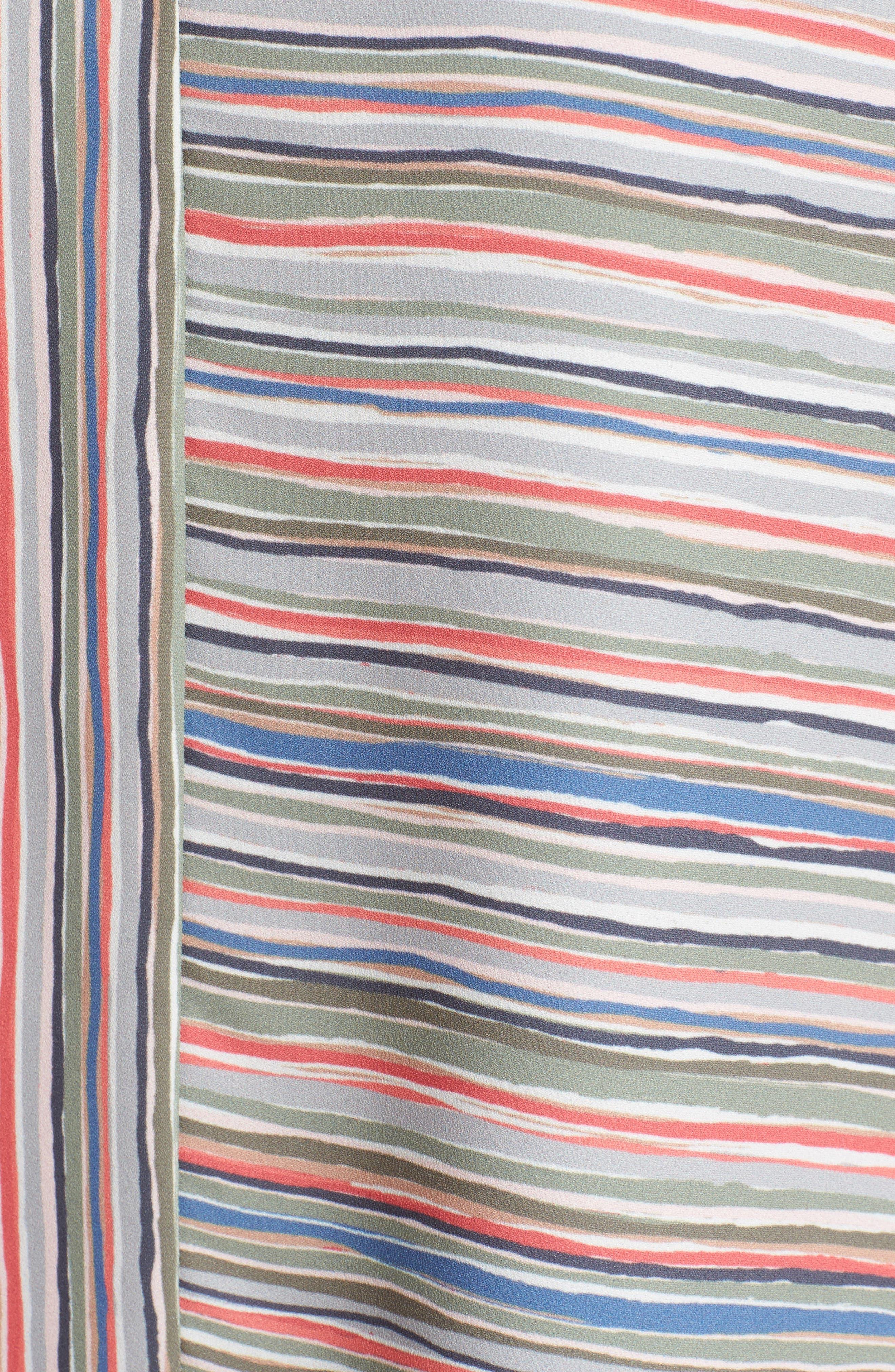 Cabana Stripe Tank,                             Alternate thumbnail 5, color,                             Multi