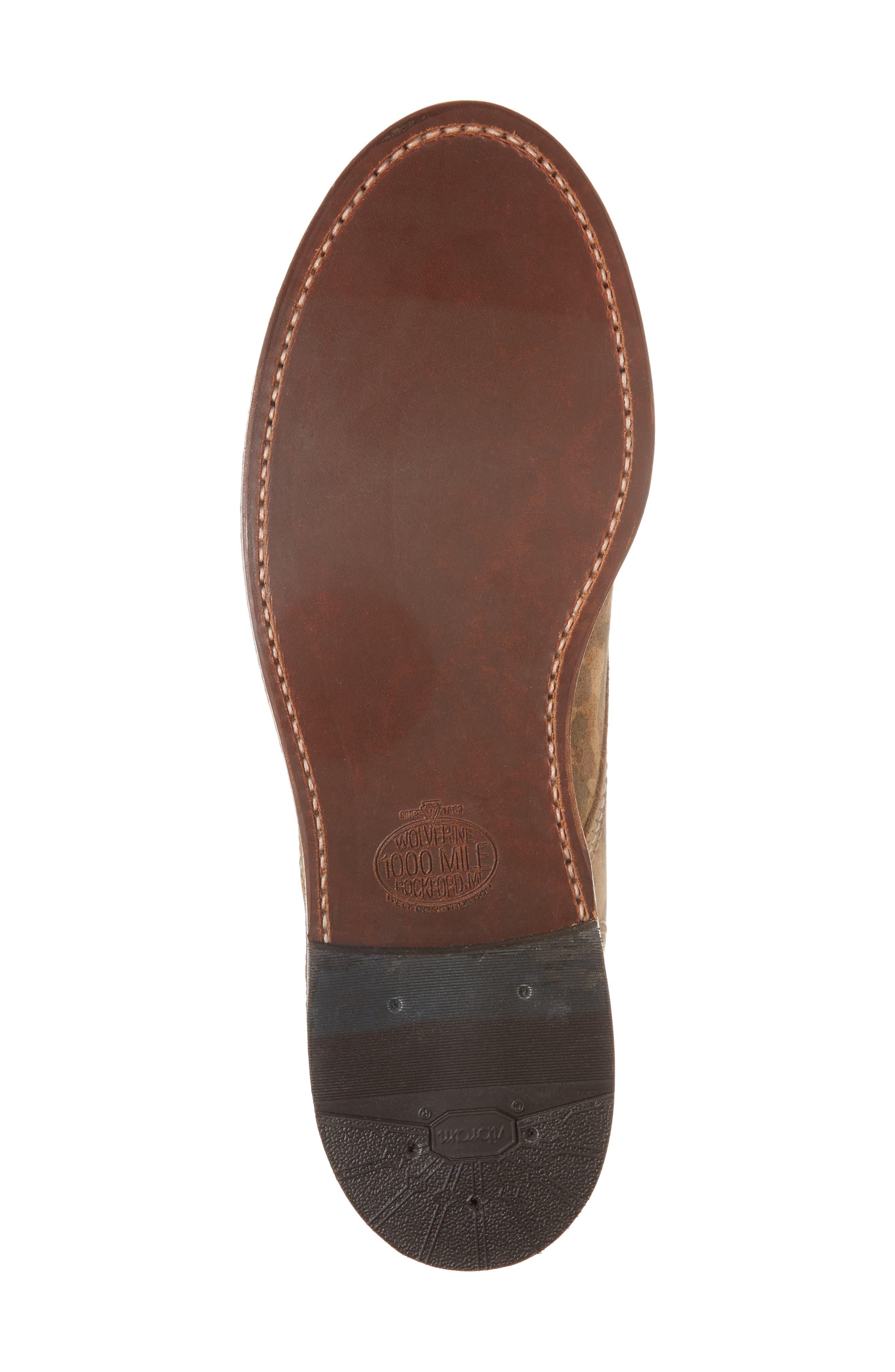 1000 Mile Original Boot,                             Alternate thumbnail 6, color,                             Camo
