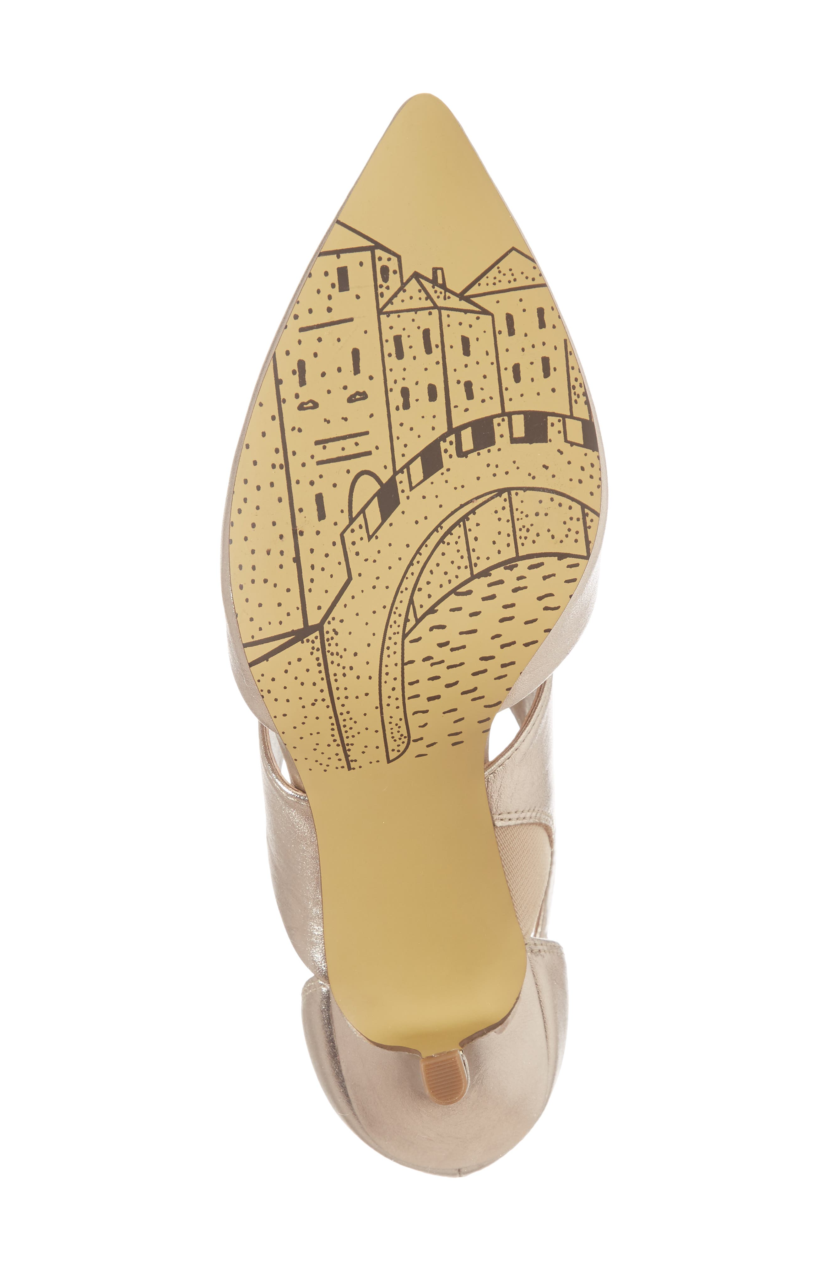 Diana Pump,                             Alternate thumbnail 6, color,                             Champagne Leather