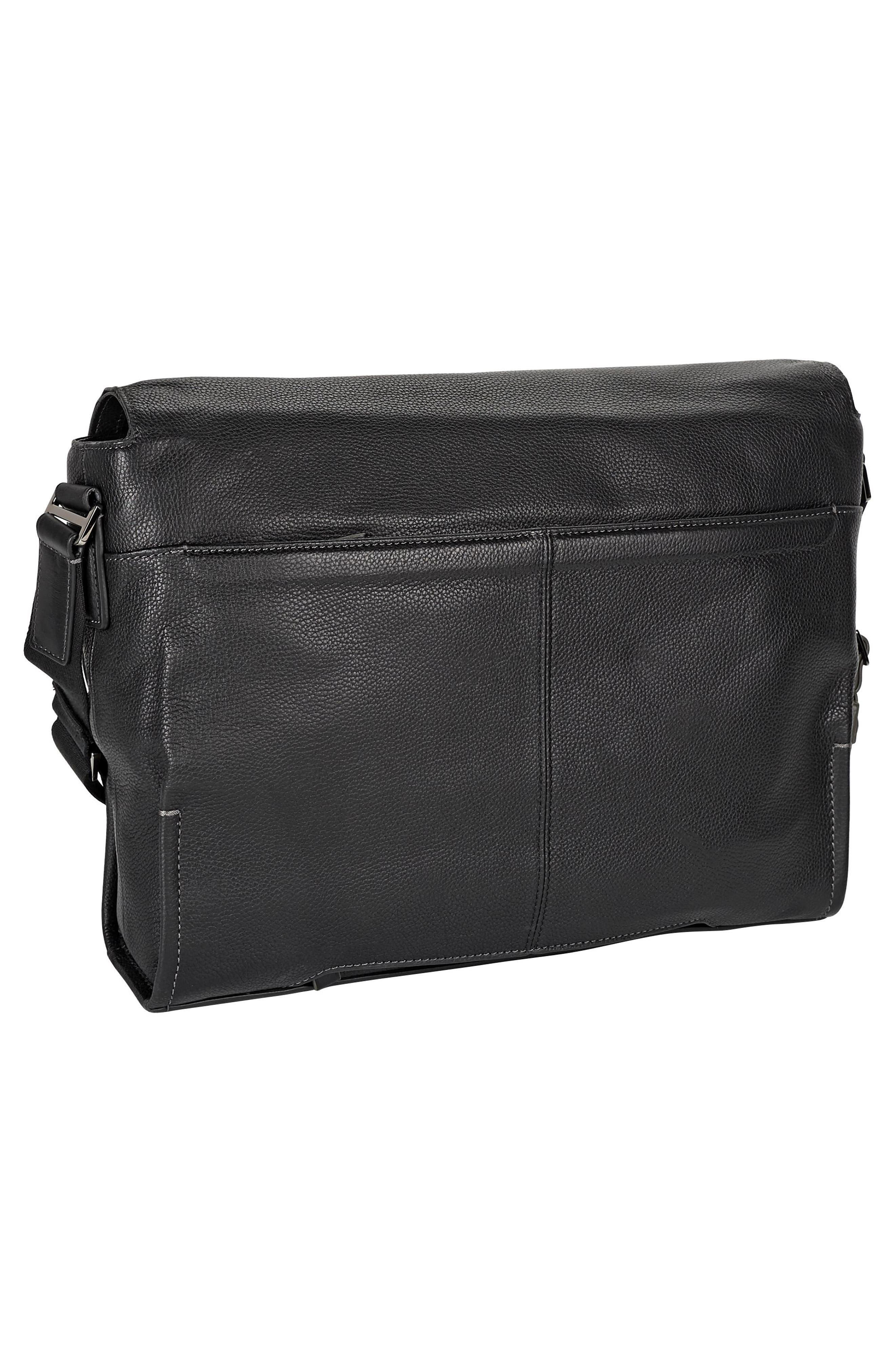 Harrison - Mathews Messenger Bag,                             Alternate thumbnail 3, color,                             Black