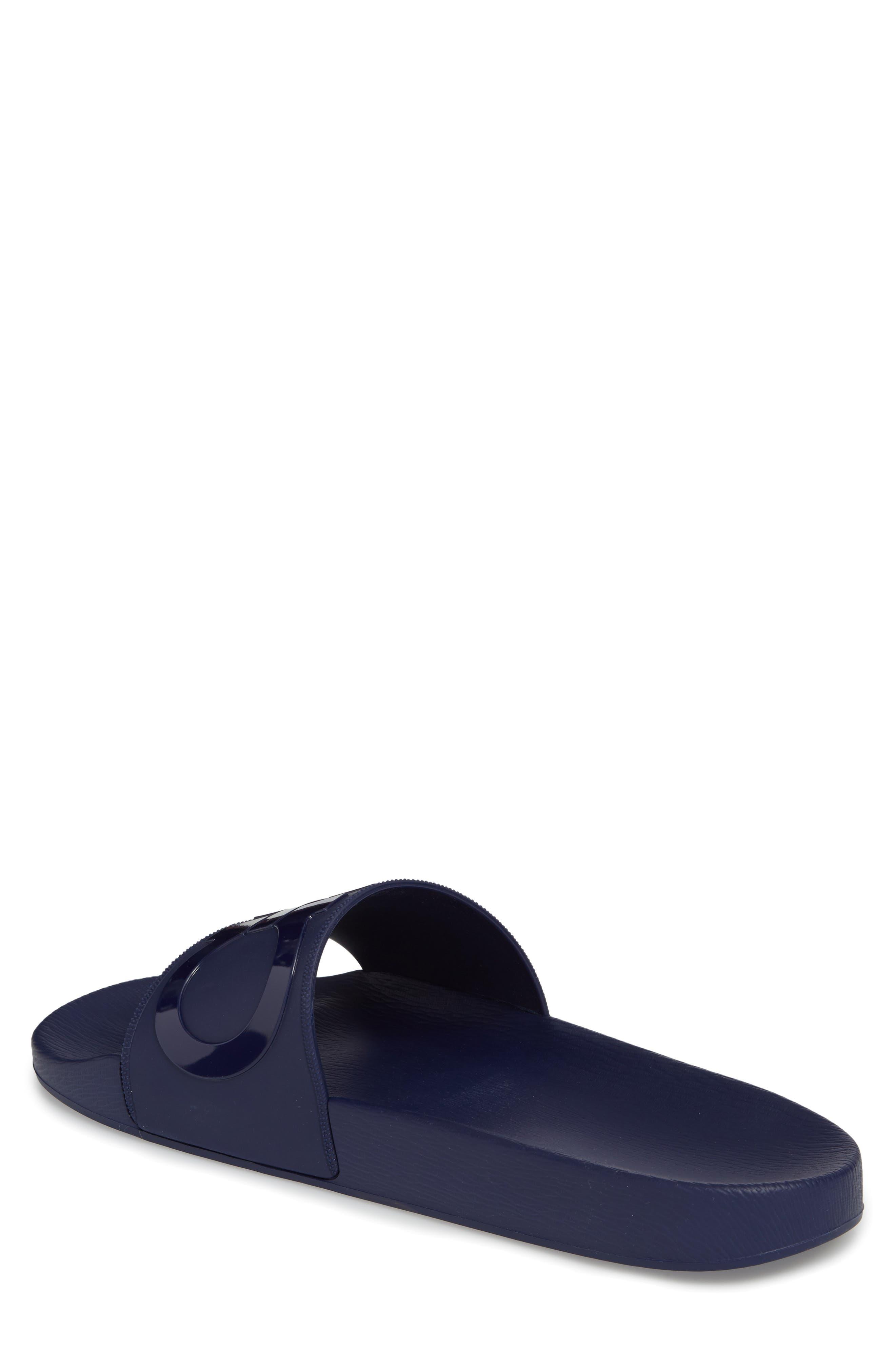 Groove 2 Slide Sandal,                             Alternate thumbnail 2, color,                             Navy