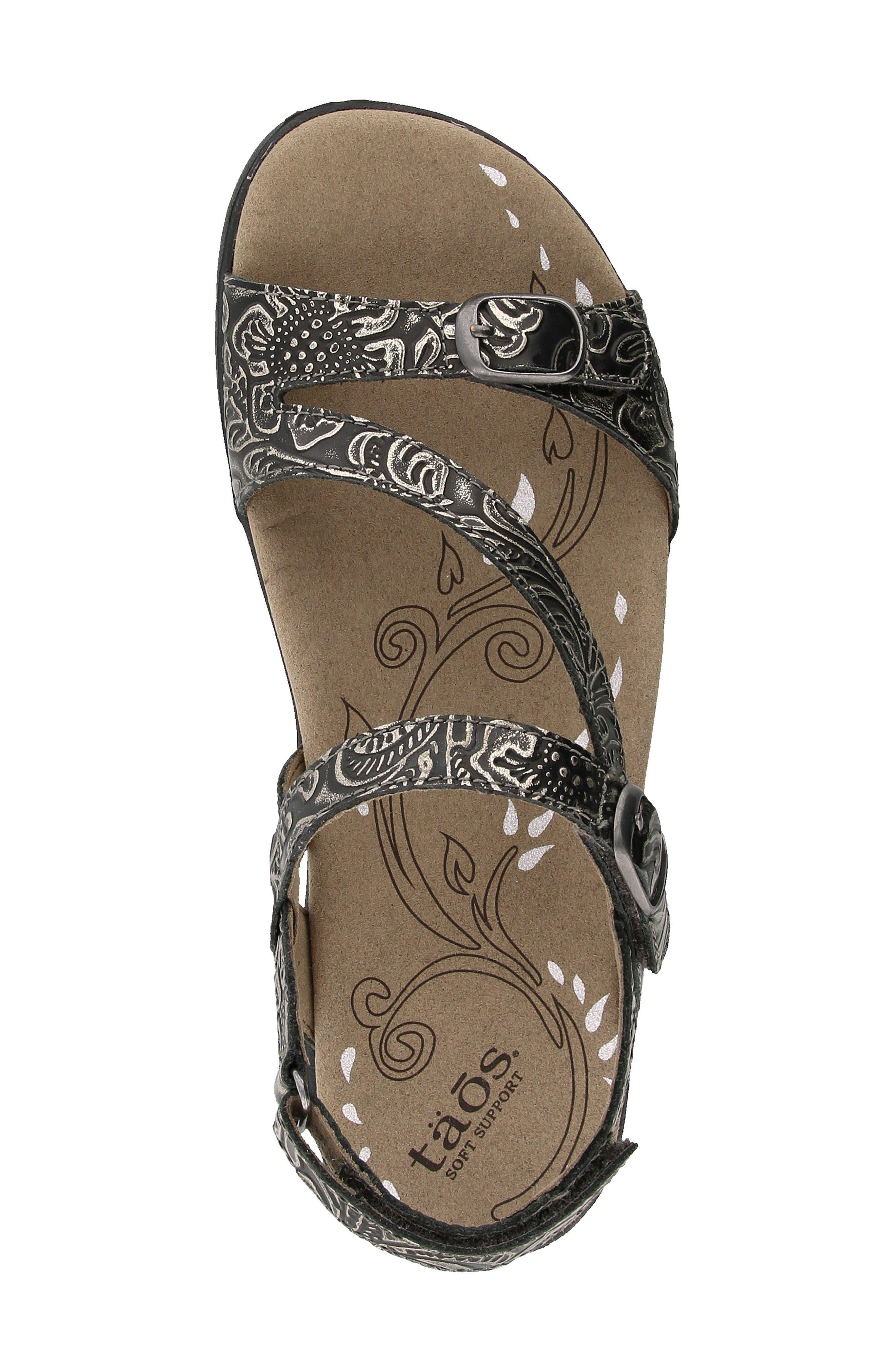 Alternate Image 4  - Taos Beauty Sandal (Women)
