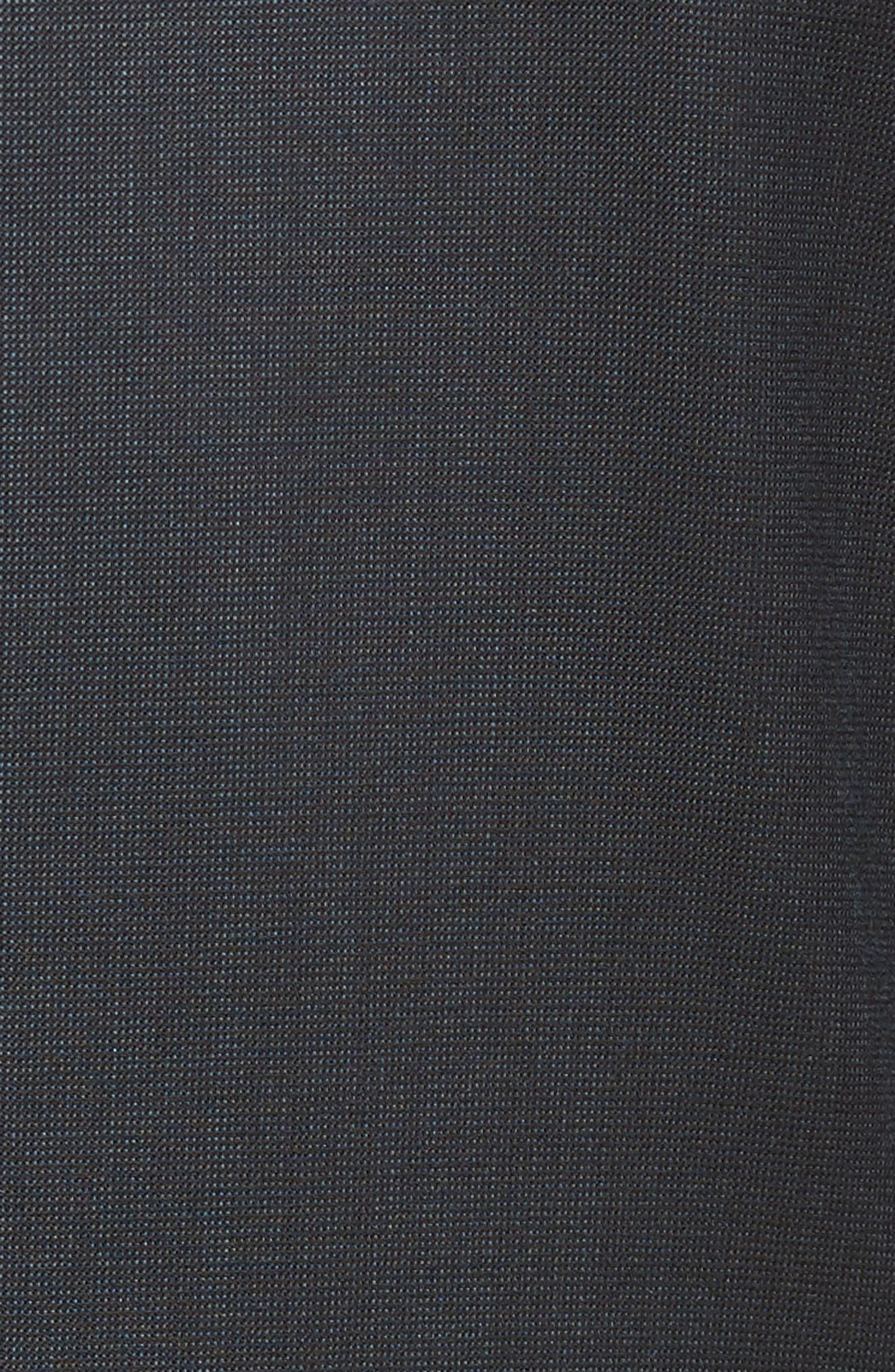 Extra Trim Fit Solid Wool Suit,                             Alternate thumbnail 7, color,                             Navy