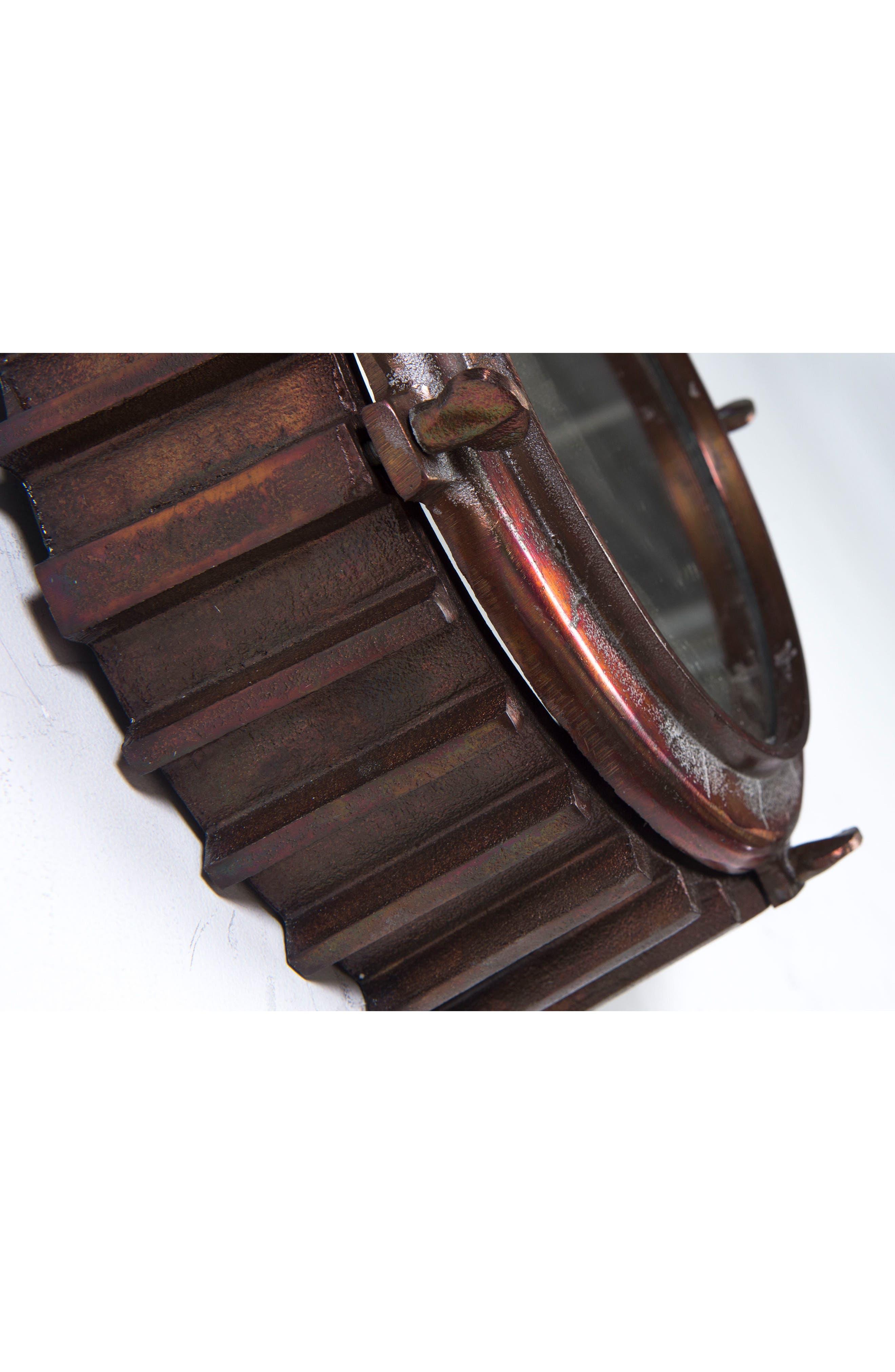 Neston Mirror,                             Alternate thumbnail 4, color,                             Copper/ Cobalt Blue/ Brass