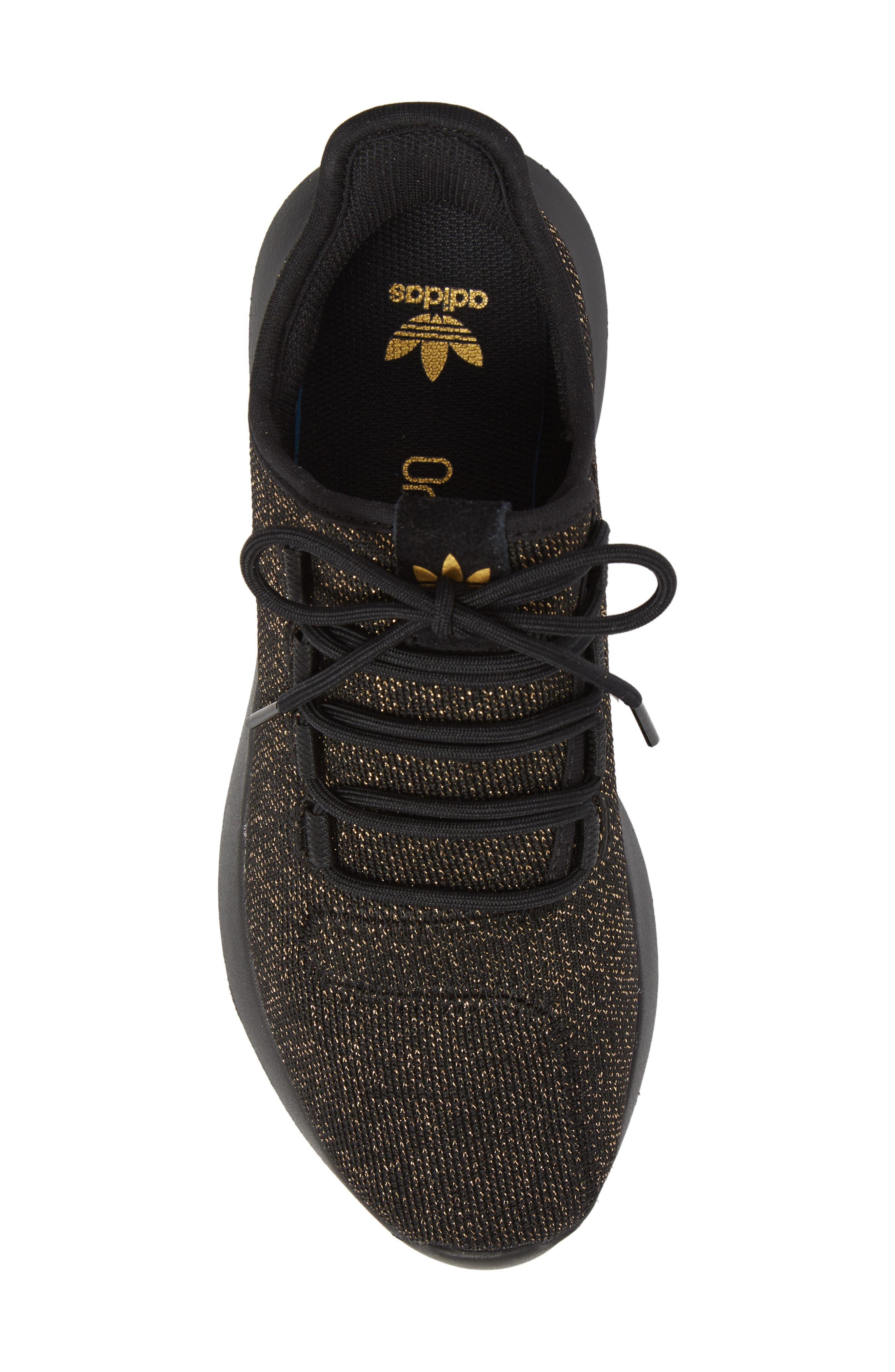 Tubular Shadow Sneaker,                             Alternate thumbnail 5, color,                             Core Black