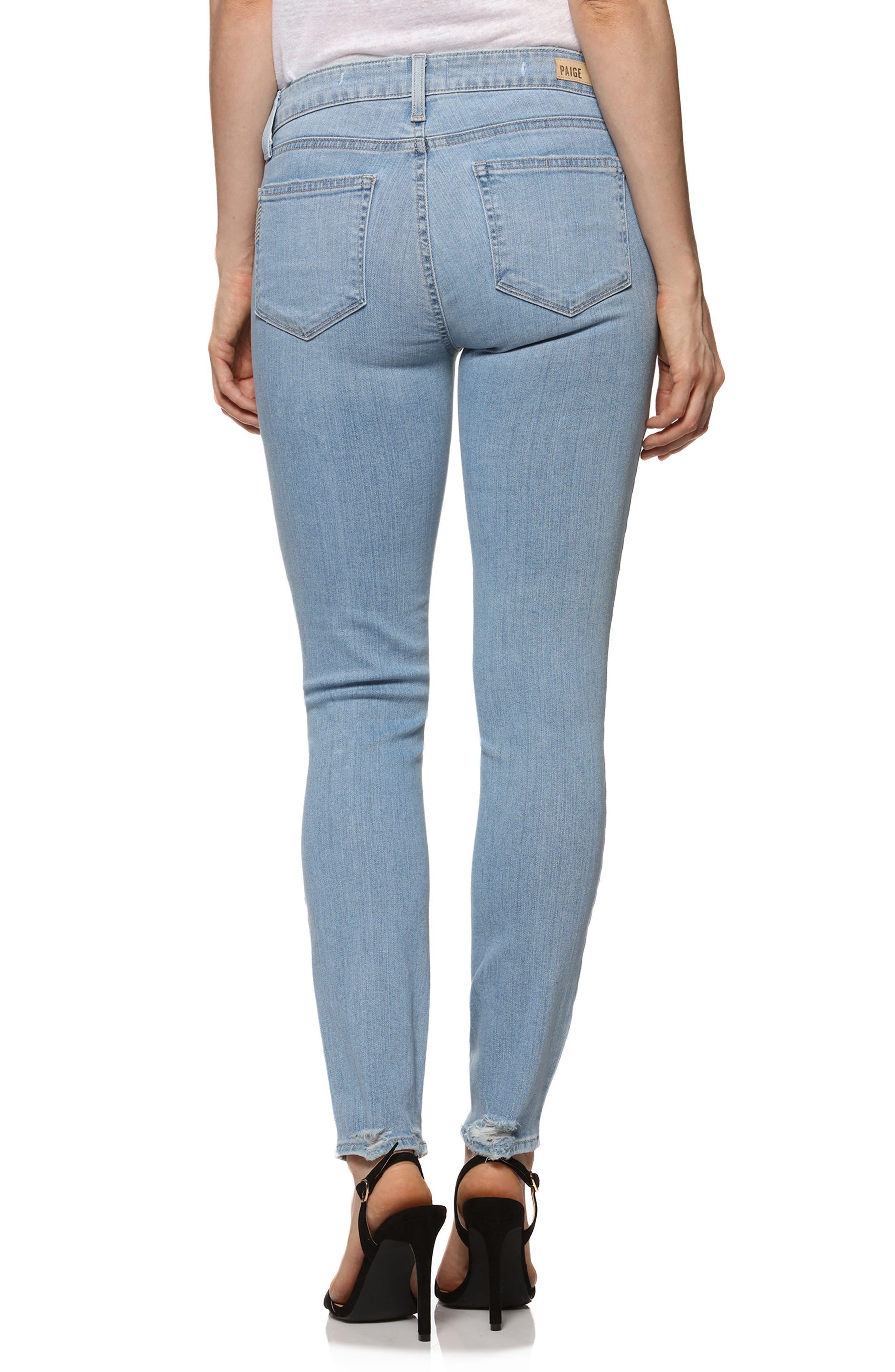 Verdugo Ankle Skinny Jeans,                             Alternate thumbnail 2, color,                             Lumina