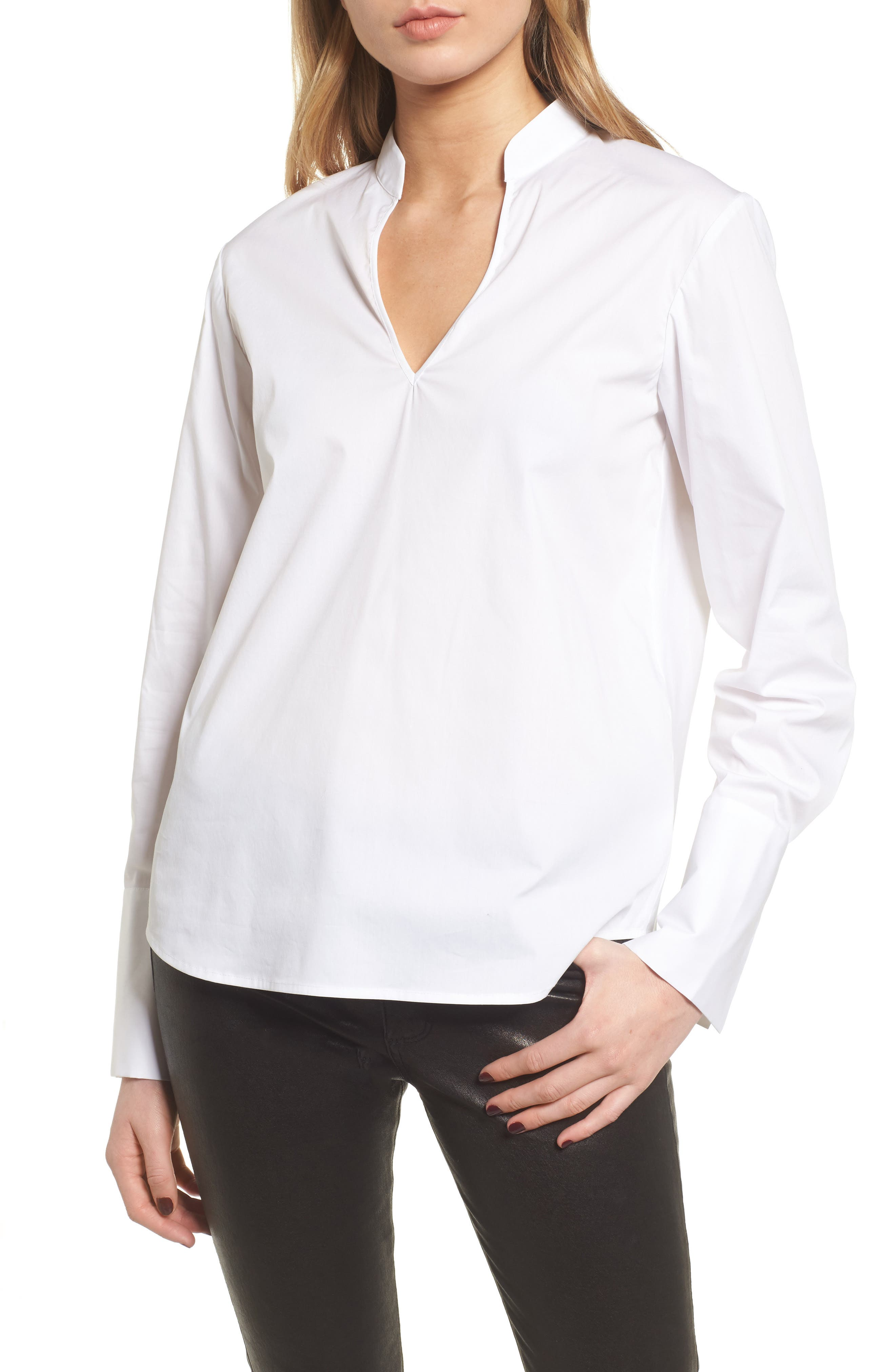 Open Back Top,                         Main,                         color, White