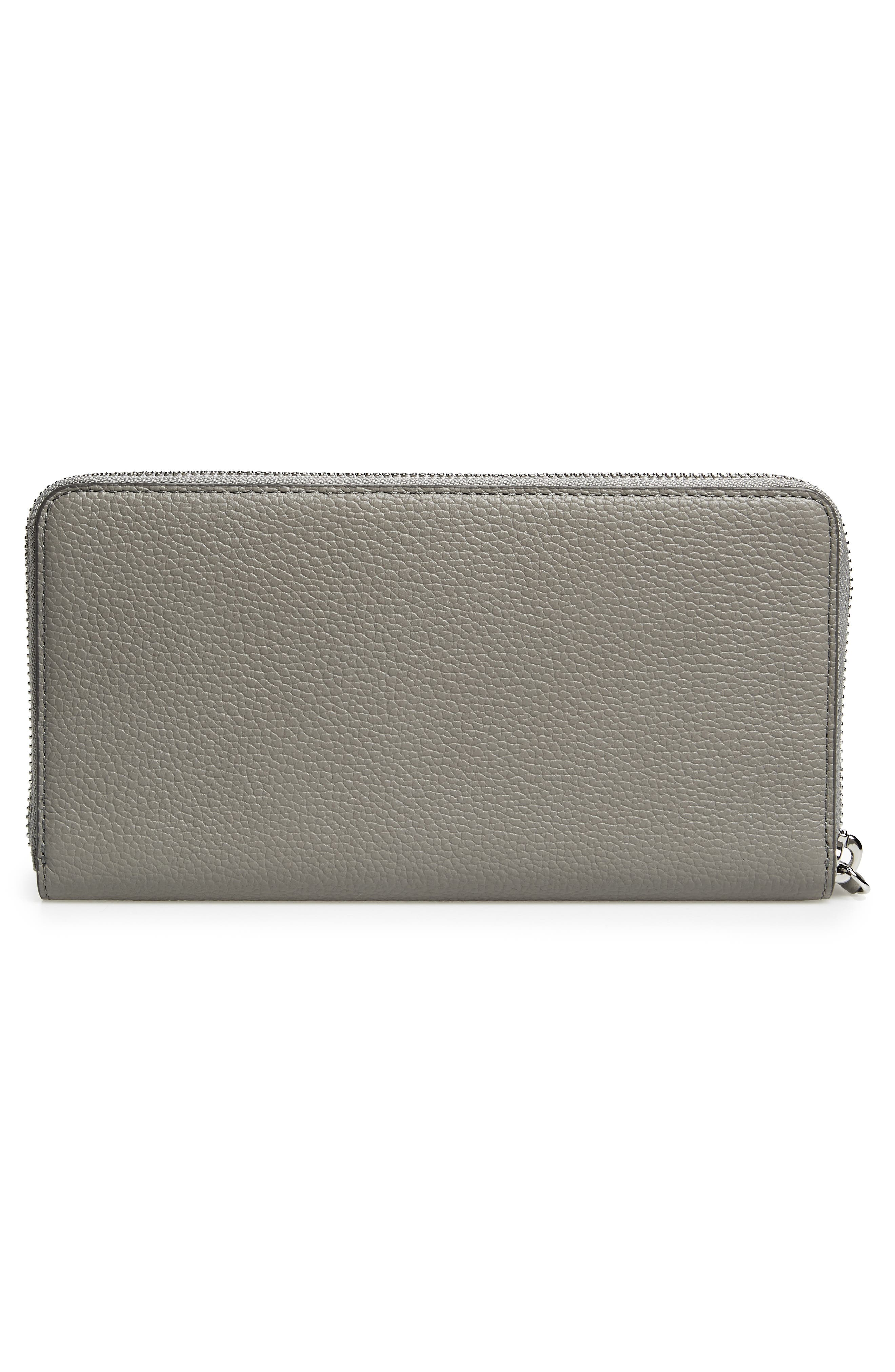 Alternate Image 4  - MCM Large Milla Zip-Around Leather Wallet