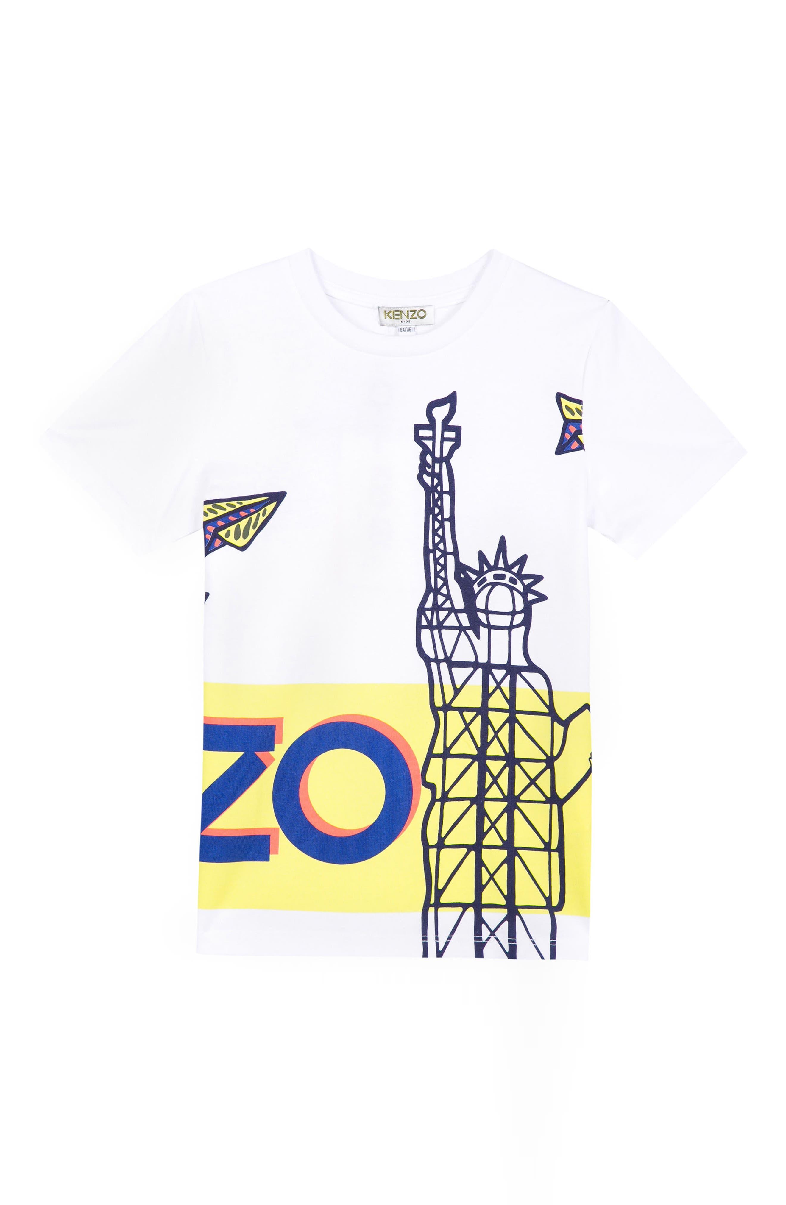 Ludic Logo Graphic T-Shirt,                             Main thumbnail 1, color,                             White