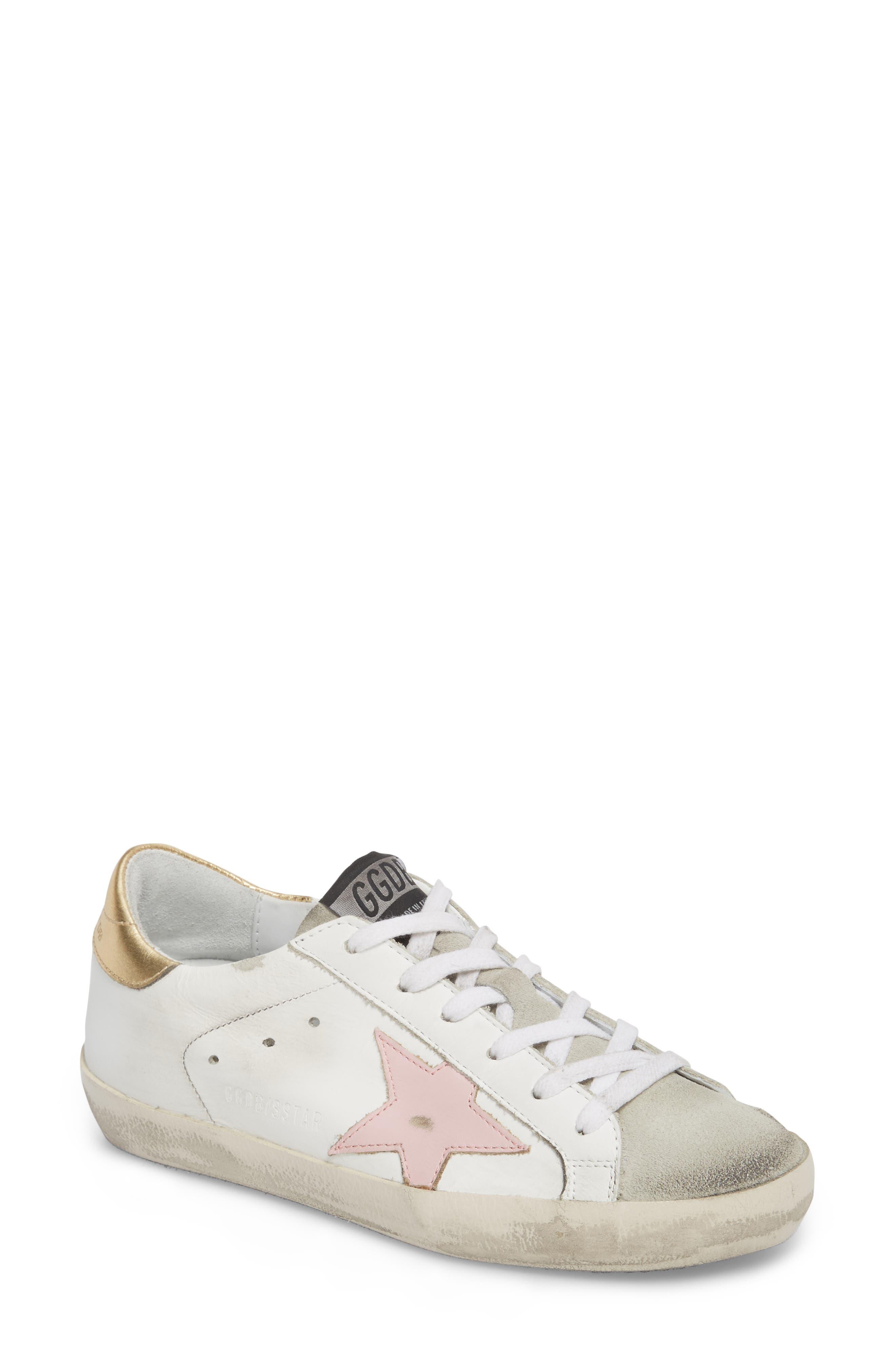 Alternate Image 1 Selected - Golden Goose Superstar Low Top Sneaker (Women)