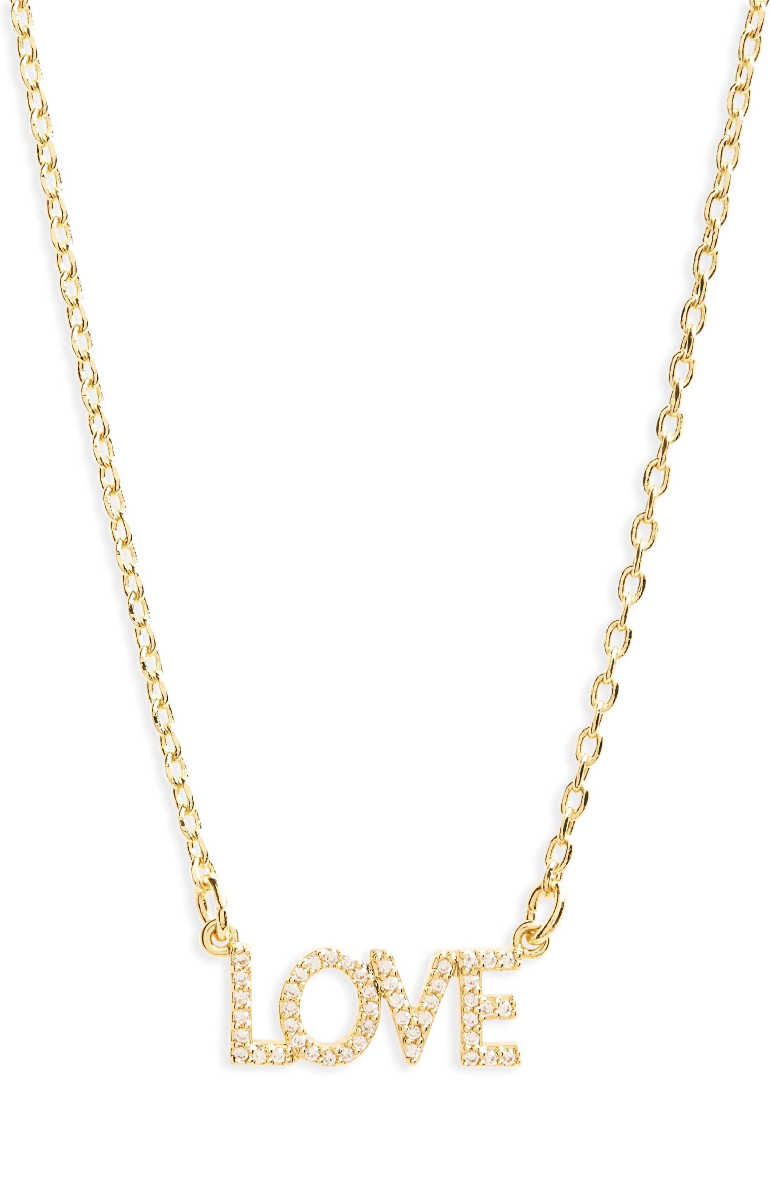 lulu dk Love Necklace