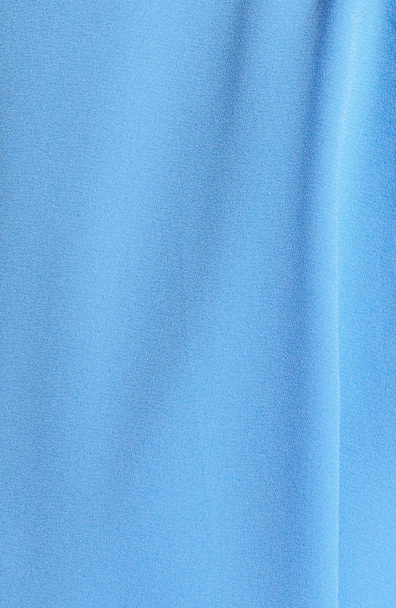 Surplice Top,                             Alternate thumbnail 6, color,                             Blue Azurite