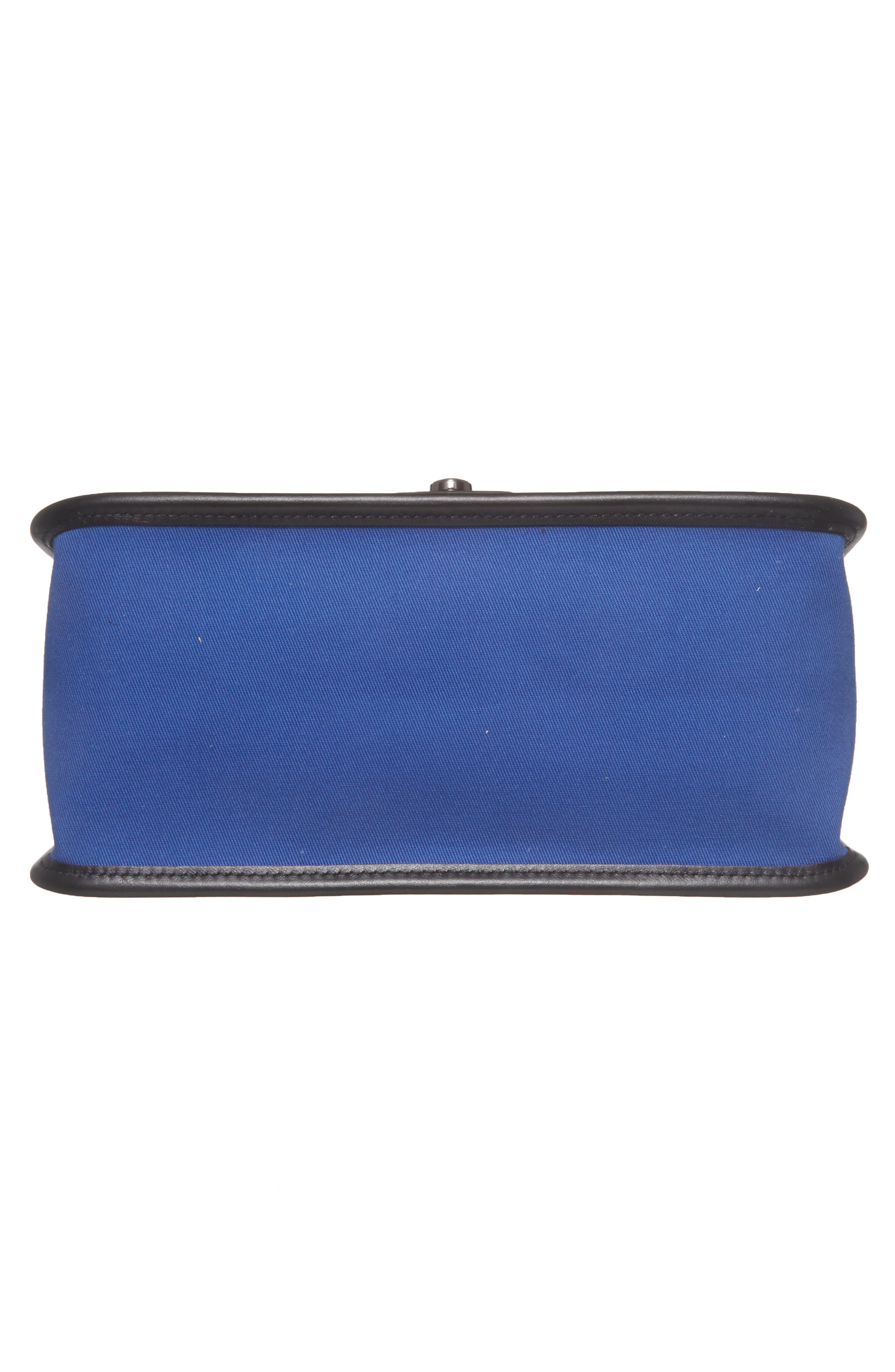 Alternate Image 6  - Longchamp Mademoiselle Gabardine Canvas Shoulder Bag