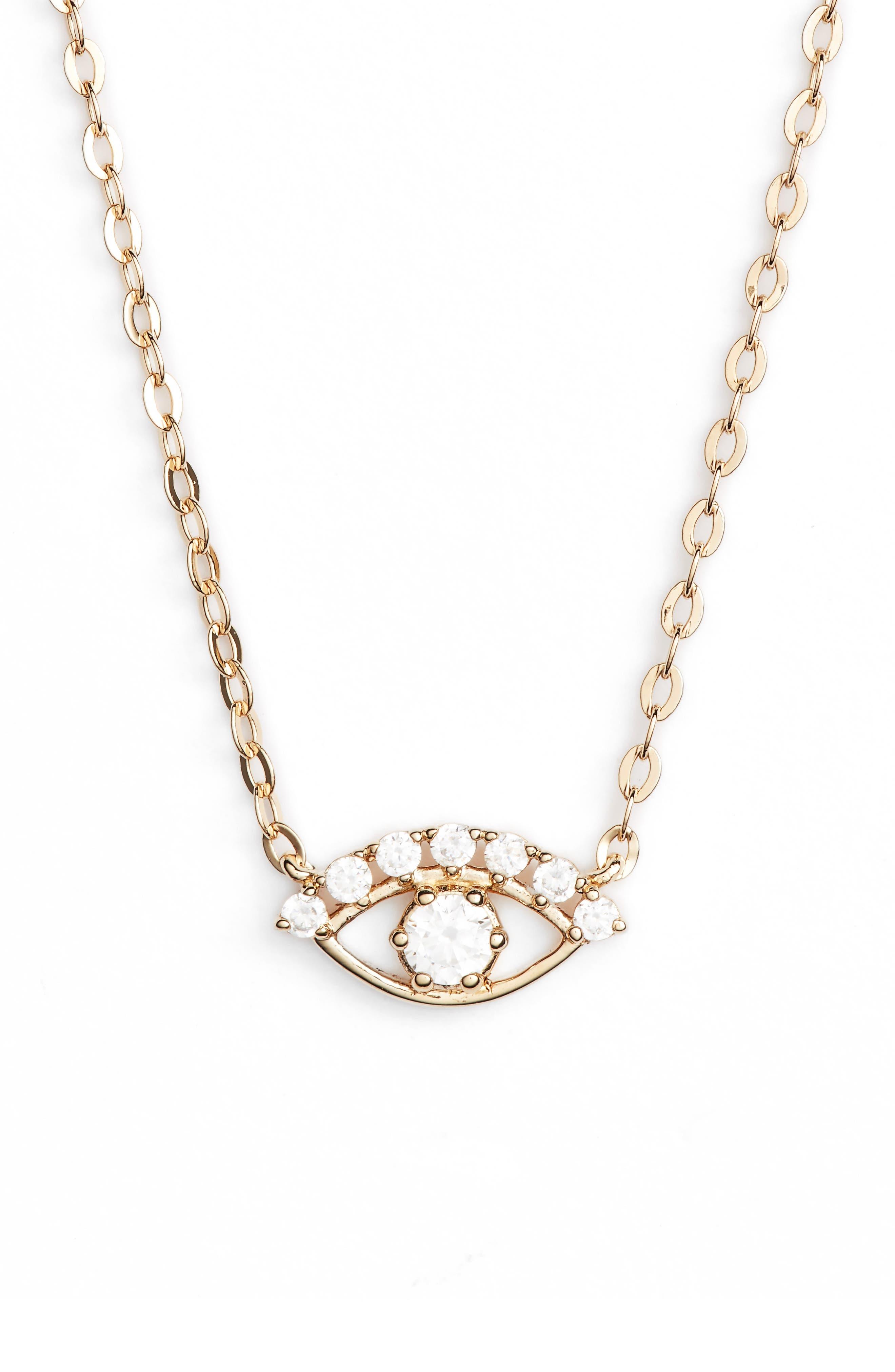 Alternate Image 2  - Nadri Reminisce Eye Necklace