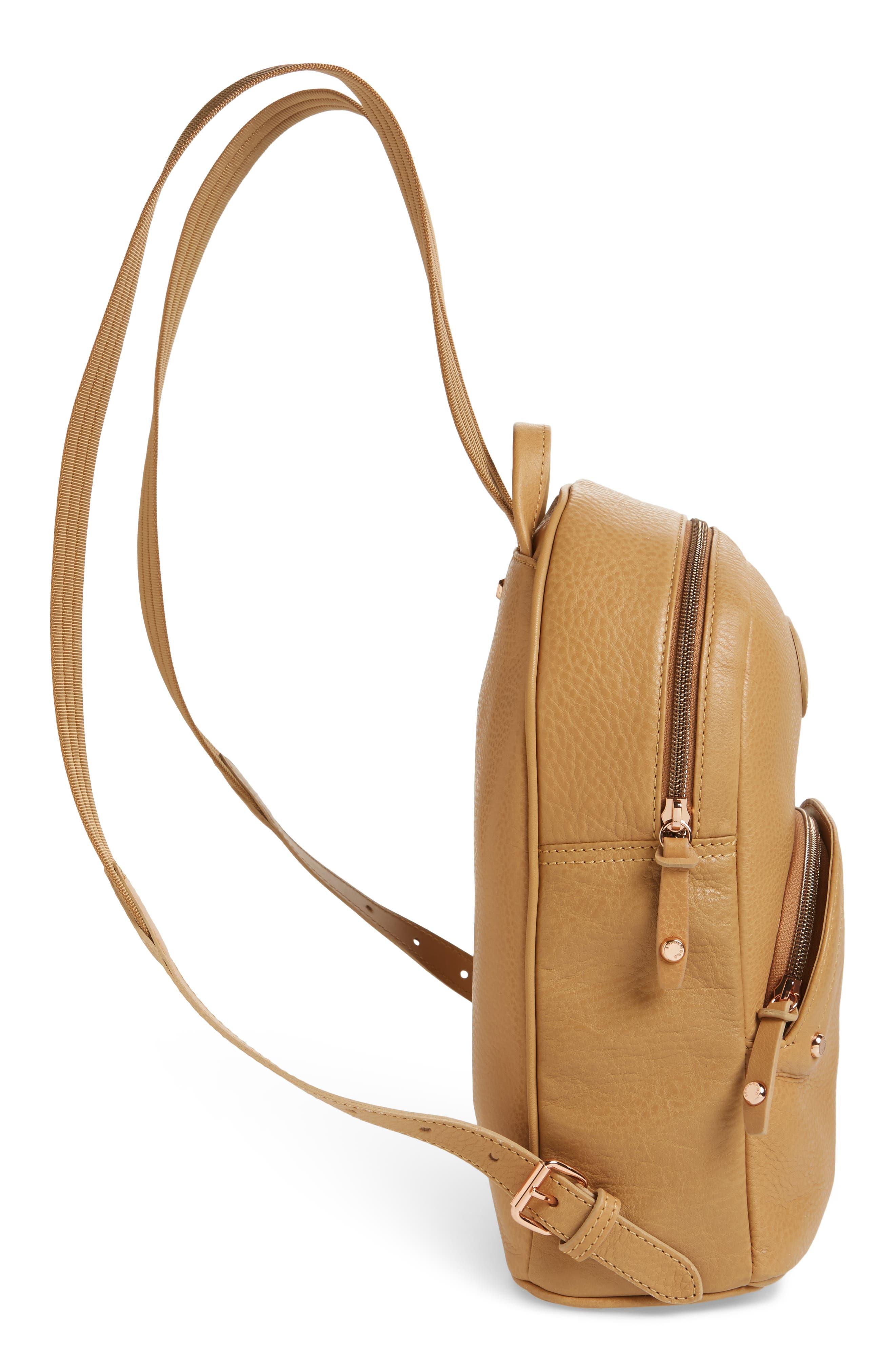 Alternate Image 4  - Longchamp Mystery Leather Backpack