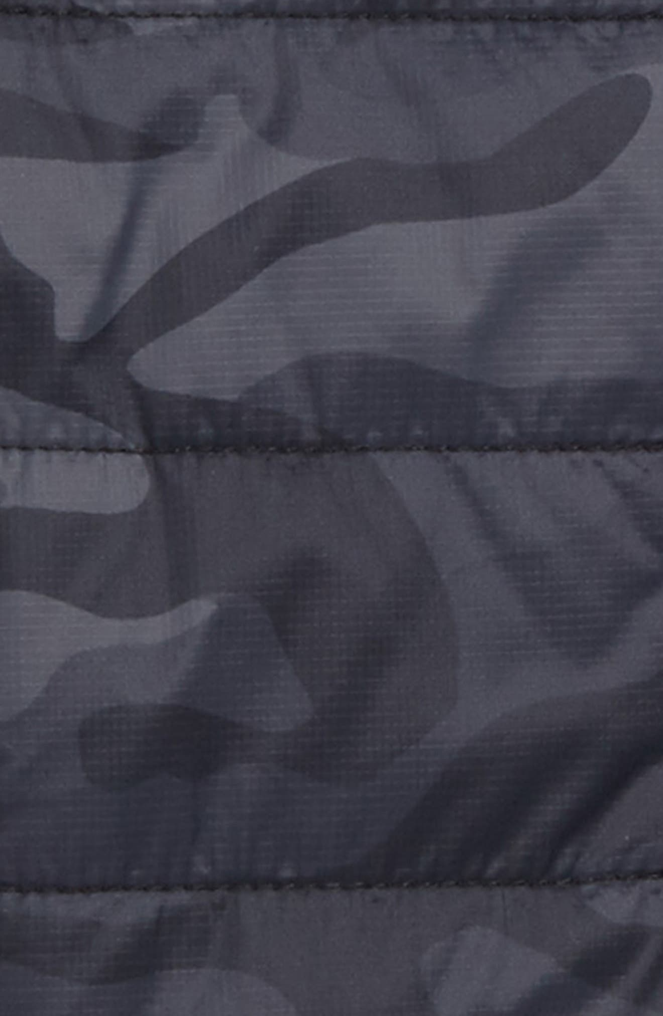 Reversible Mountain Weekend Jacket,                             Alternate thumbnail 3, color,                             Jet Black