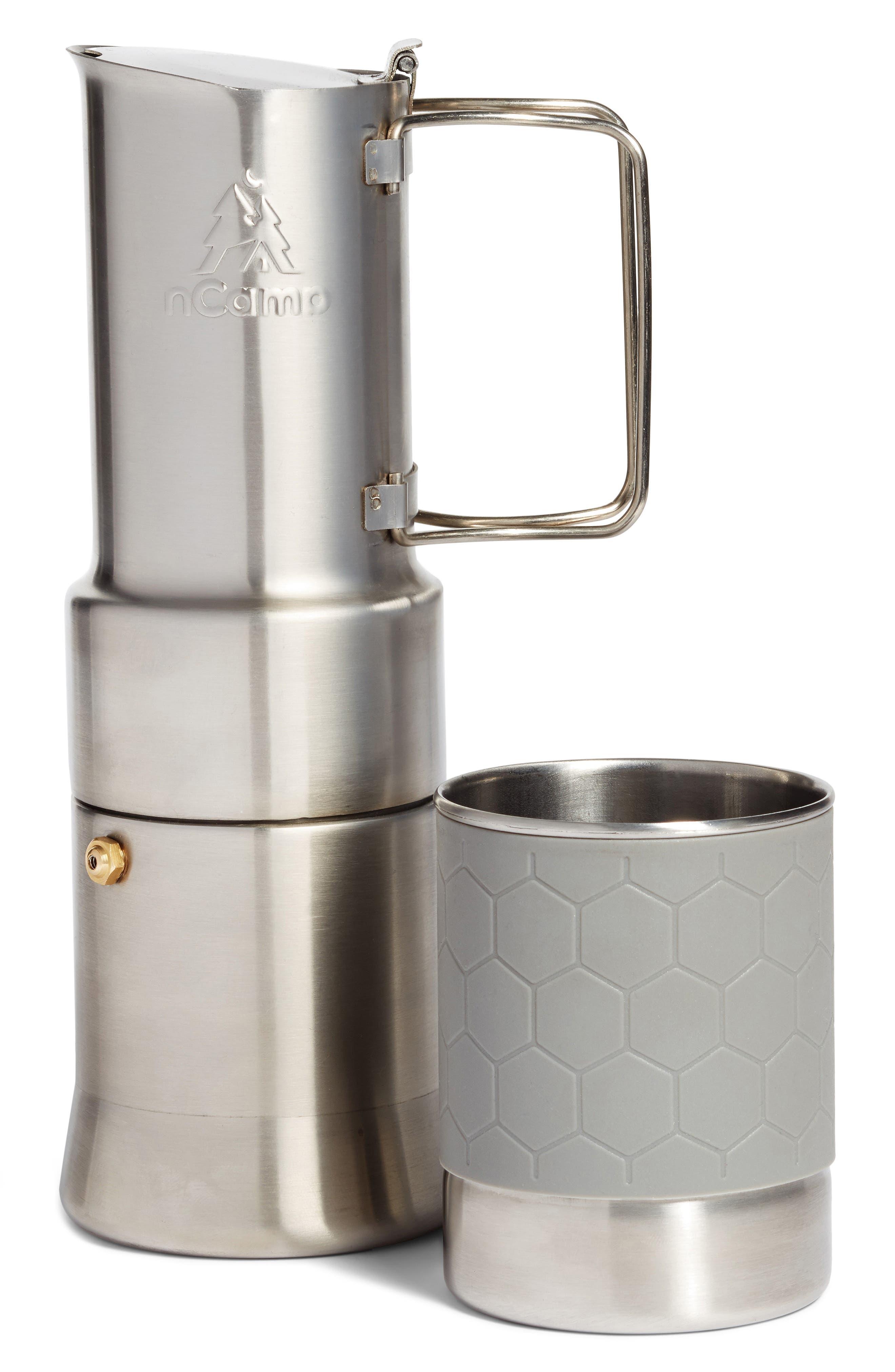 Café Espresso Style Coffee Maker,                         Main,                         color, Silver
