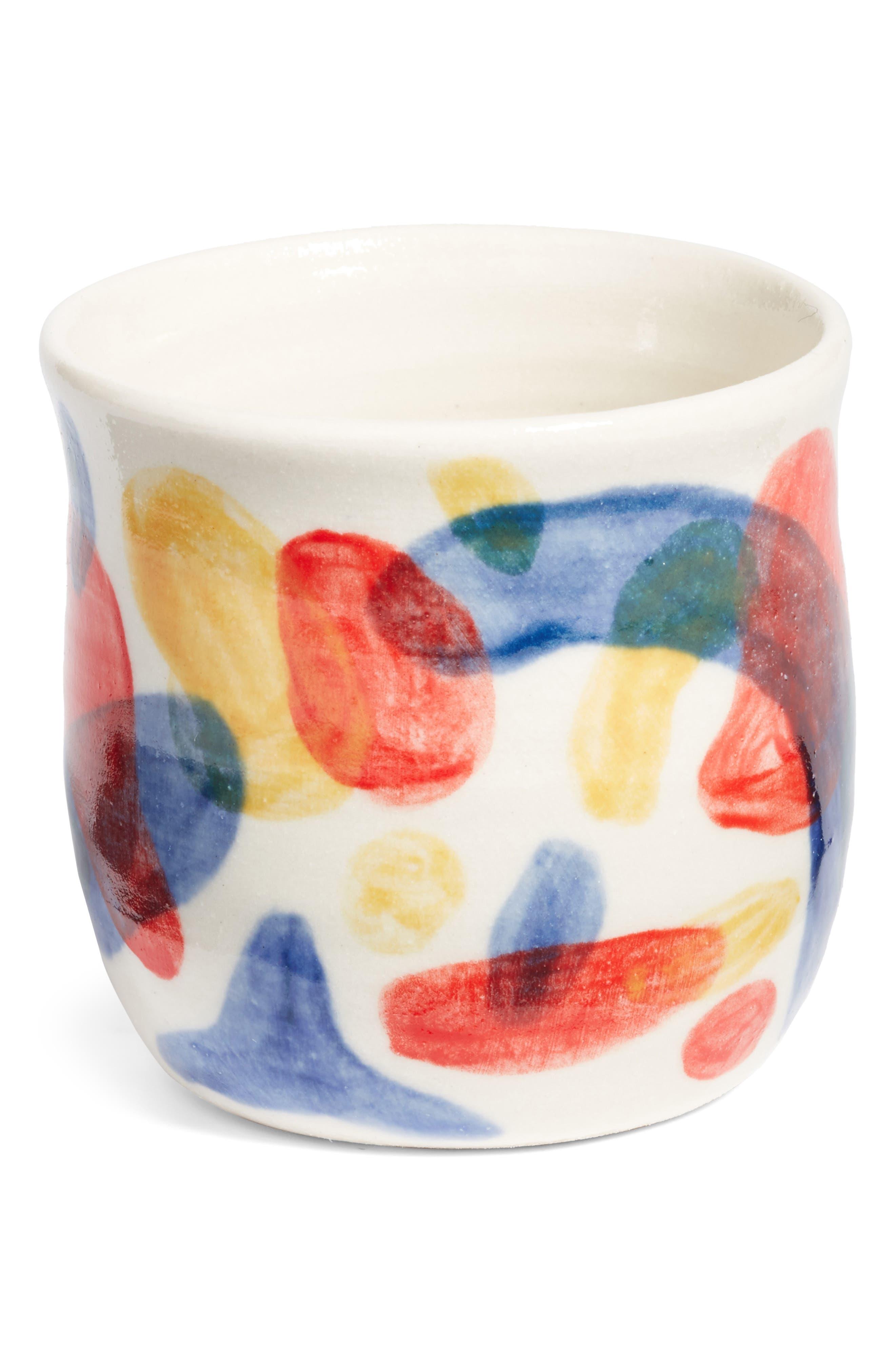 Primary Deco Bitty Pot,                         Main,                         color, Blobs
