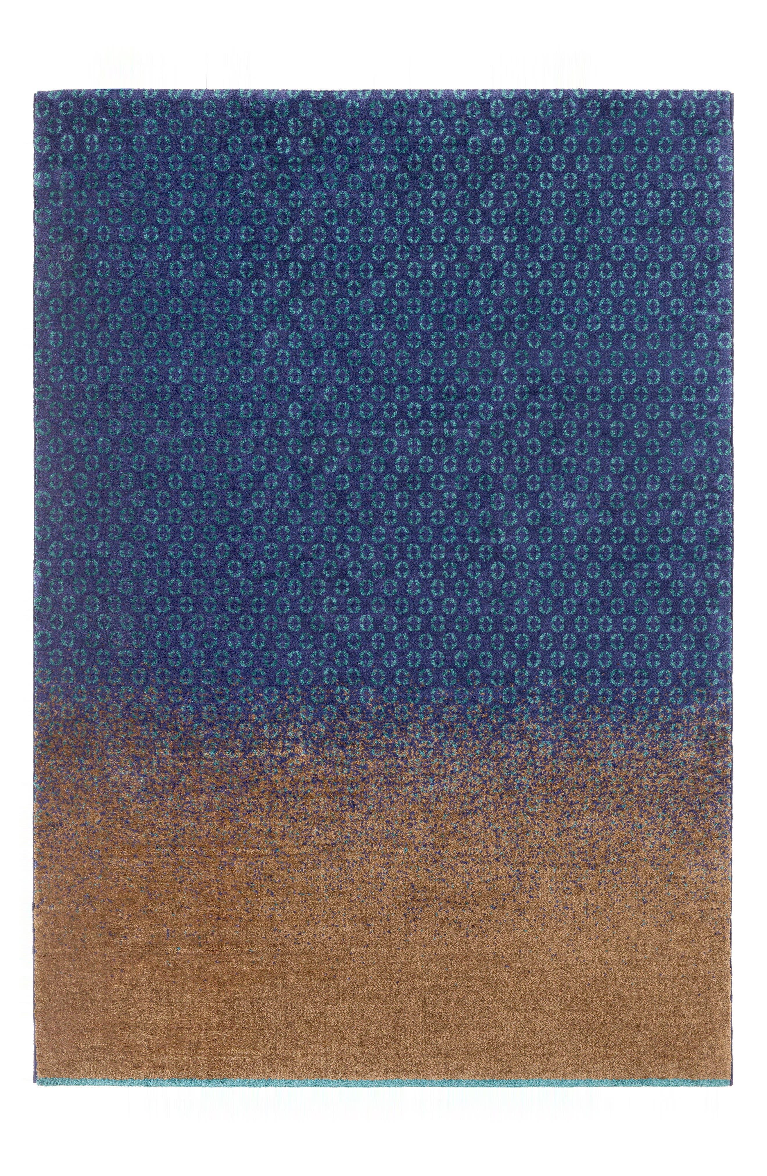 DipGeo Area Rug,                         Main,                         color, Brown