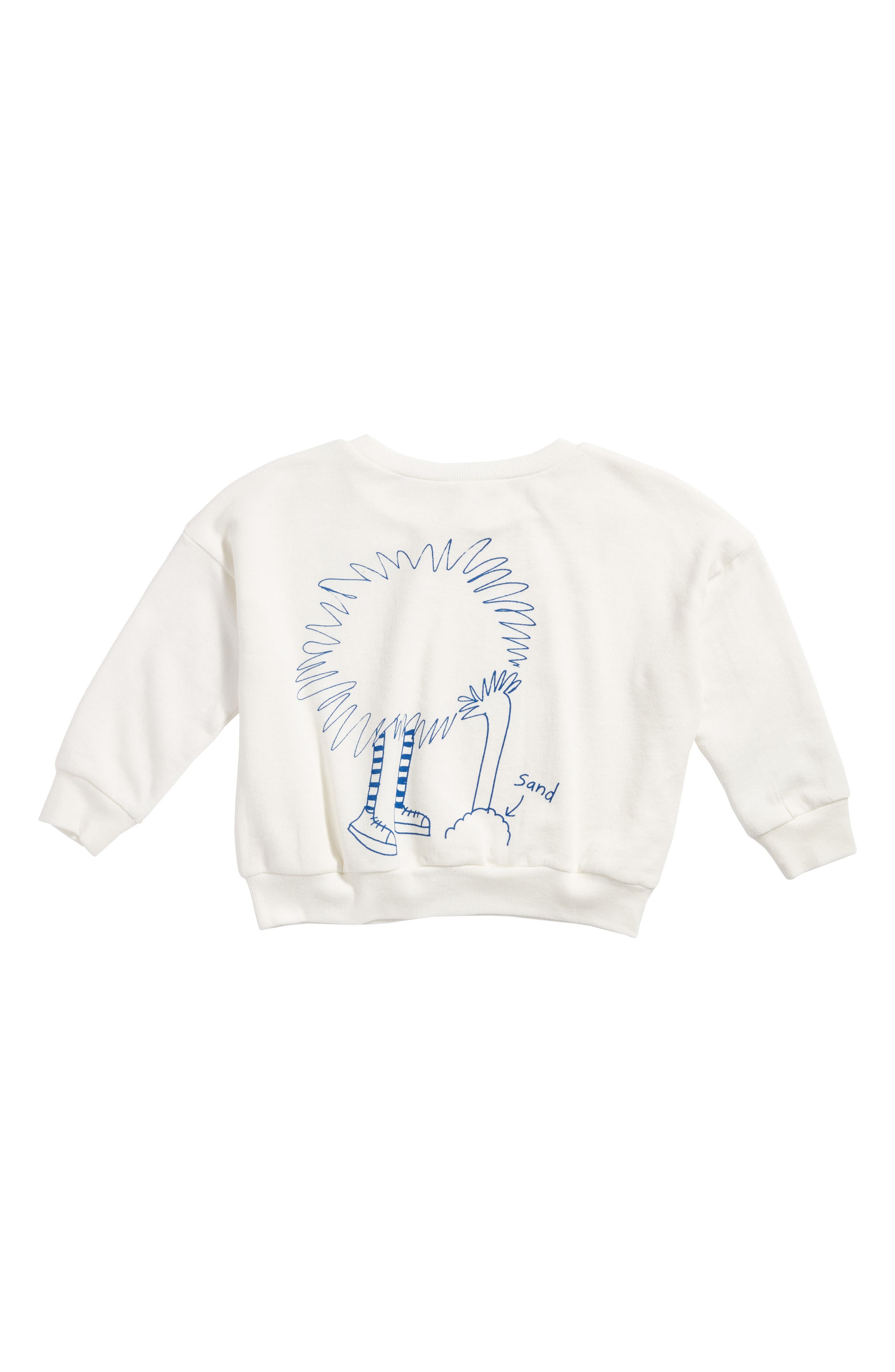 Alternate Image 2  - Stem Ostrich Graphic Sweatshirt (Toddler Girls, Little Girls & Big Girls)
