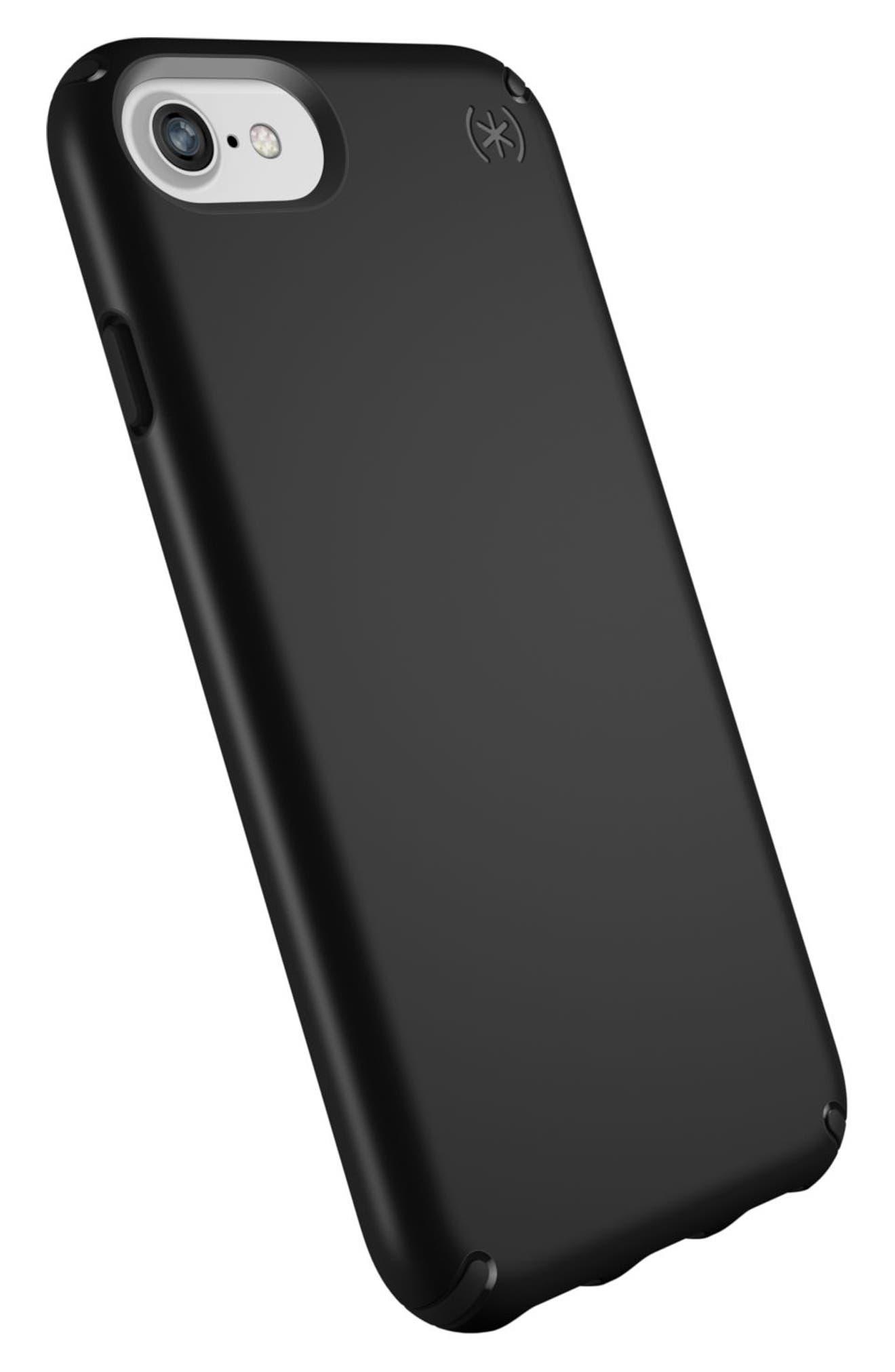 iPhone 6/6s/7/8 Case,                             Alternate thumbnail 4, color,                             Black/ Black