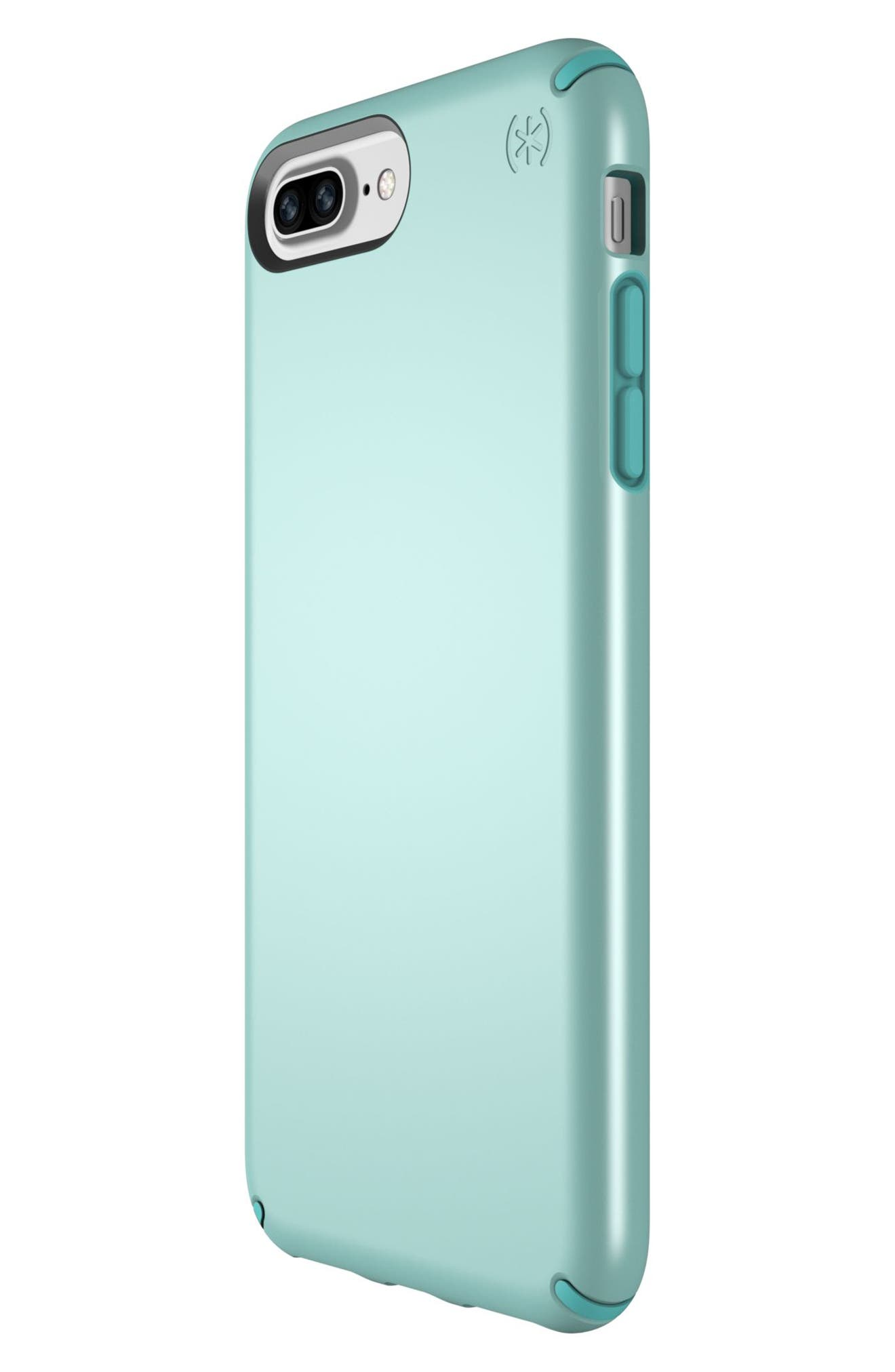 iPhone 6/6s/7/8 Plus Case,                             Alternate thumbnail 3, color,                             Peppermint Green/ Teal