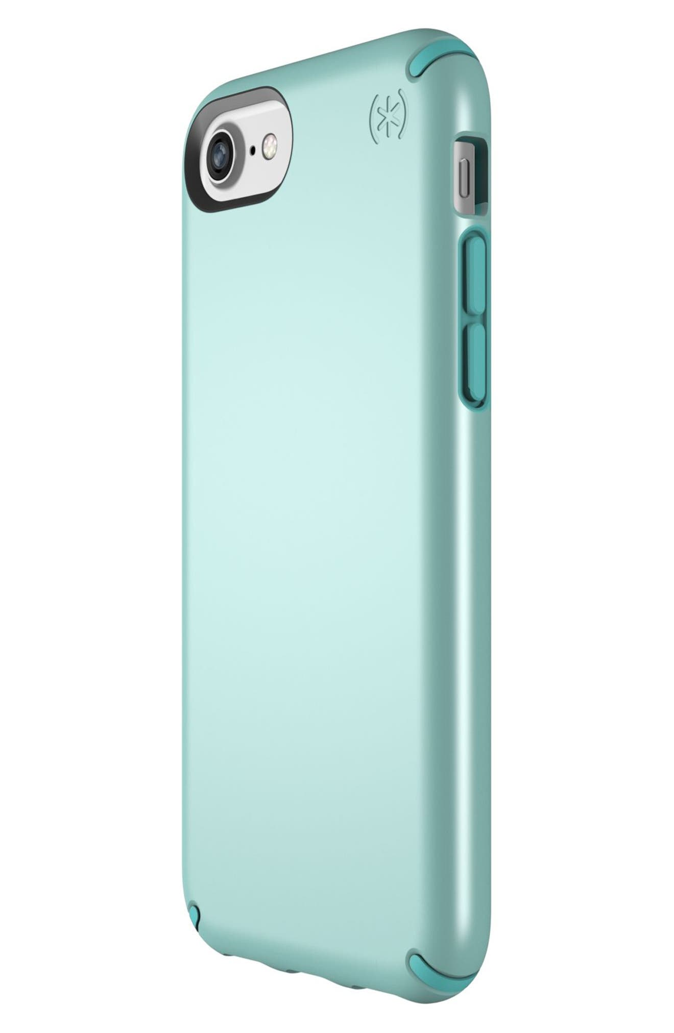 iPhone 6/6s/7/8 Case,                             Alternate thumbnail 4, color,                             Peppermint Green/ Teal